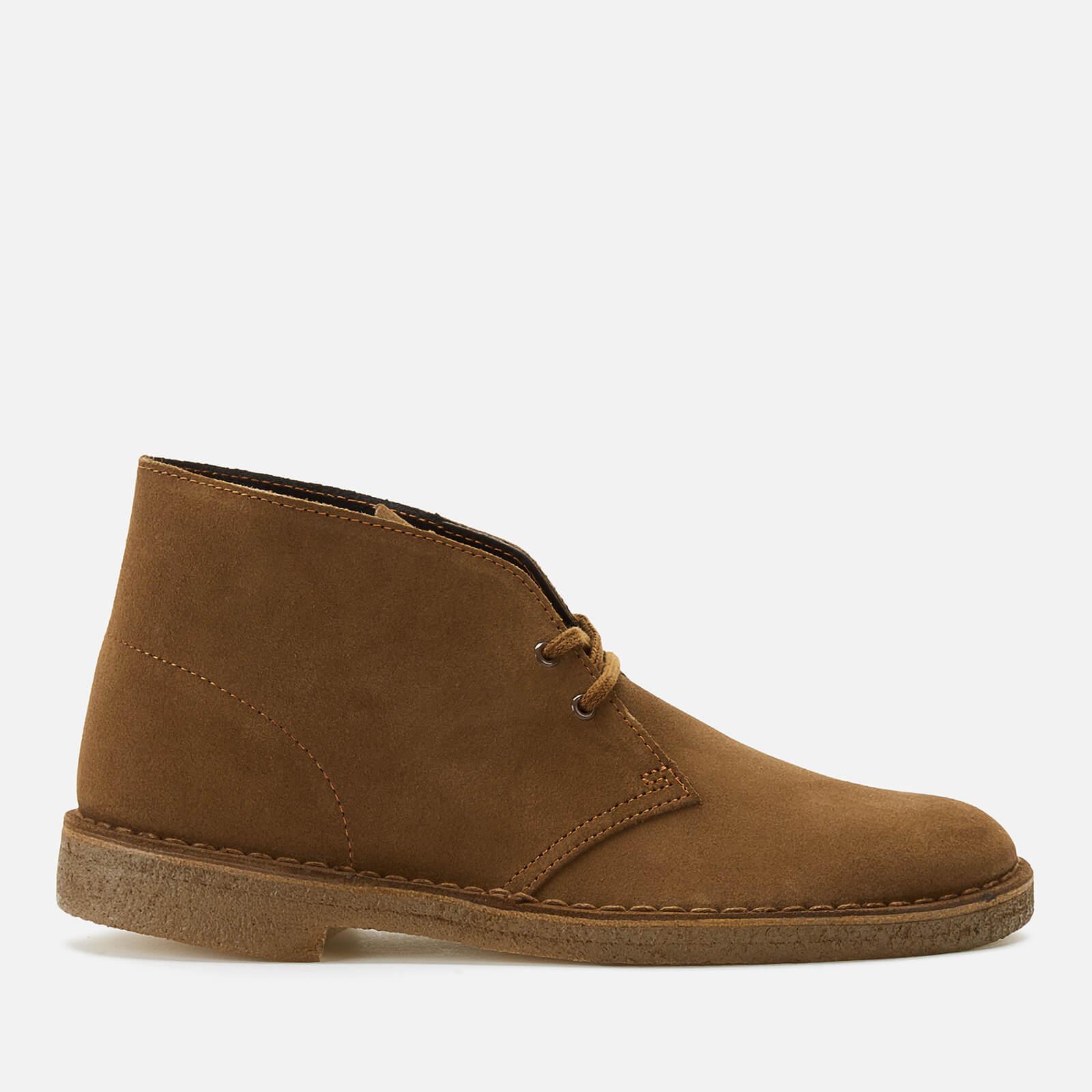 Clarks Originals Men's Suede Desert Boots - Cola - UK 9