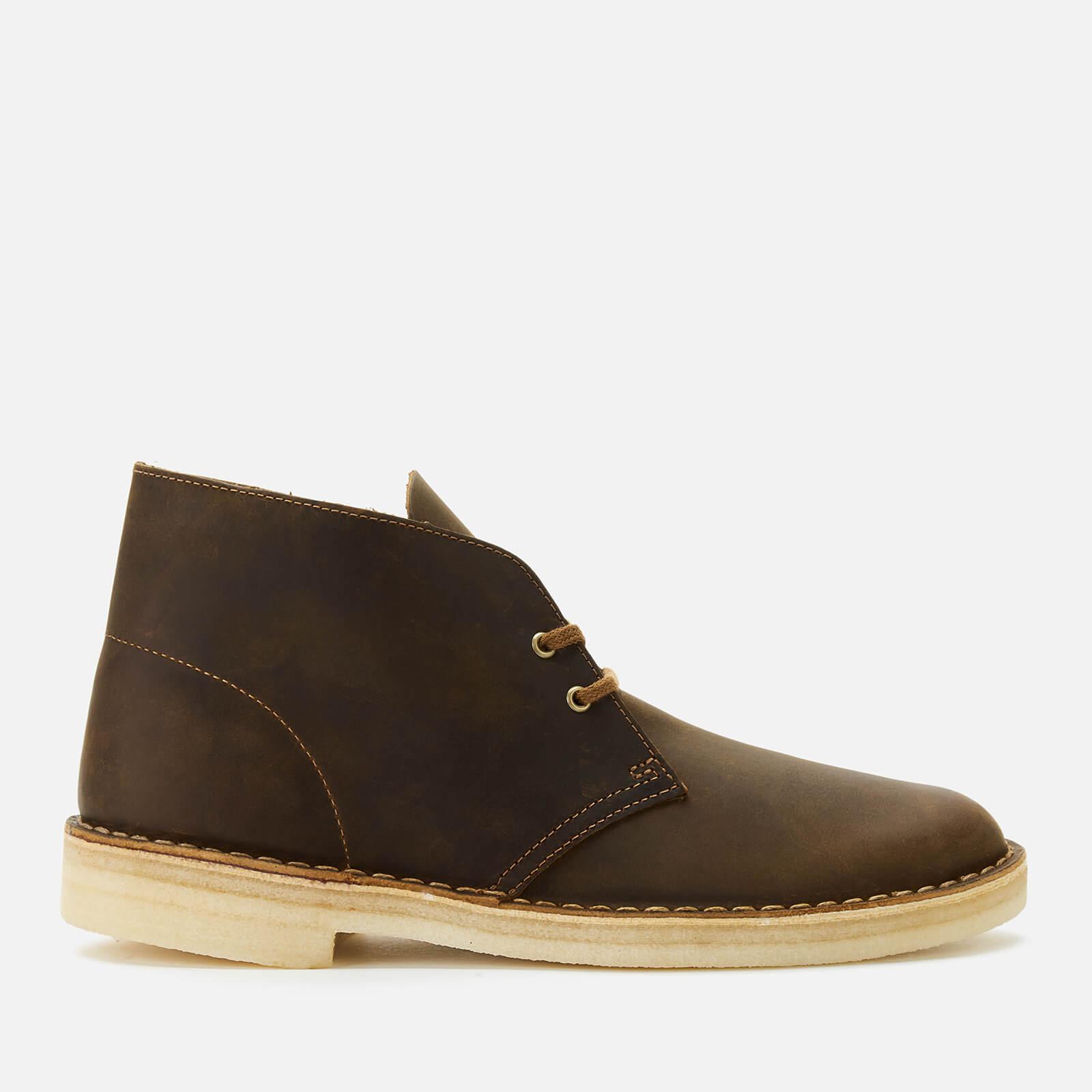 Clarks Originals Men's Leather Desert Boots - Beeswax - UK 7