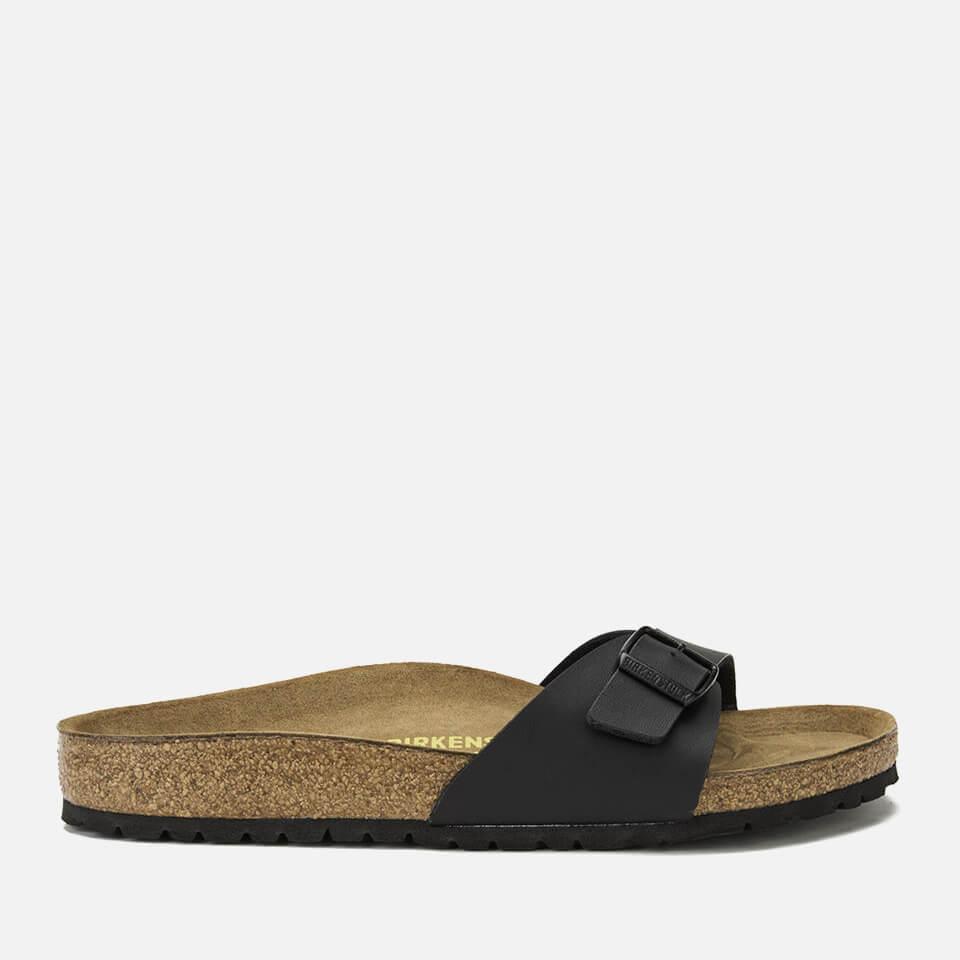 Birkenstock Women's Madrid Slim Fit Single Strap Sandals - Black - EU 38/UK 5