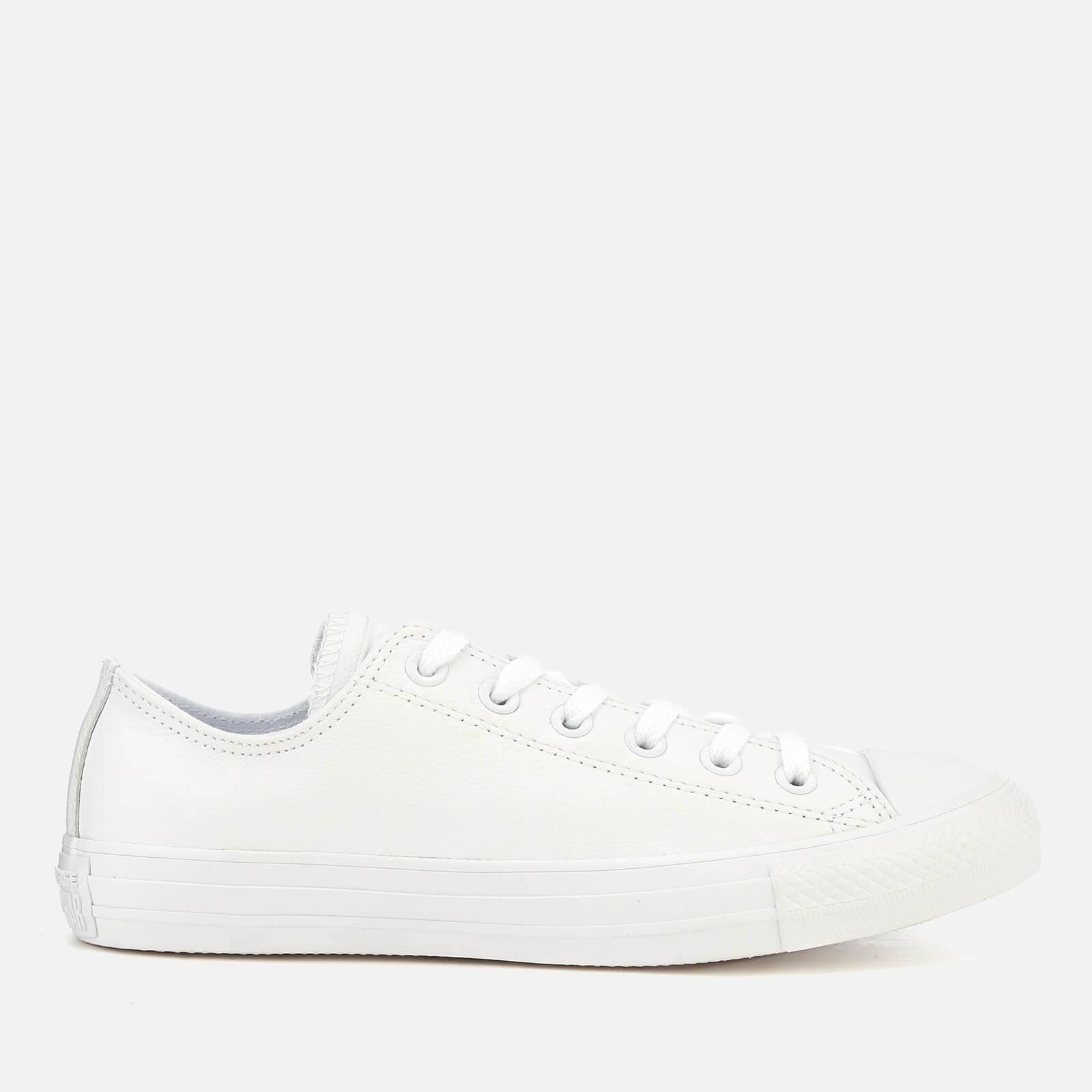 Converse Chuck Taylor All Star Ox Trainers - White - UK 7