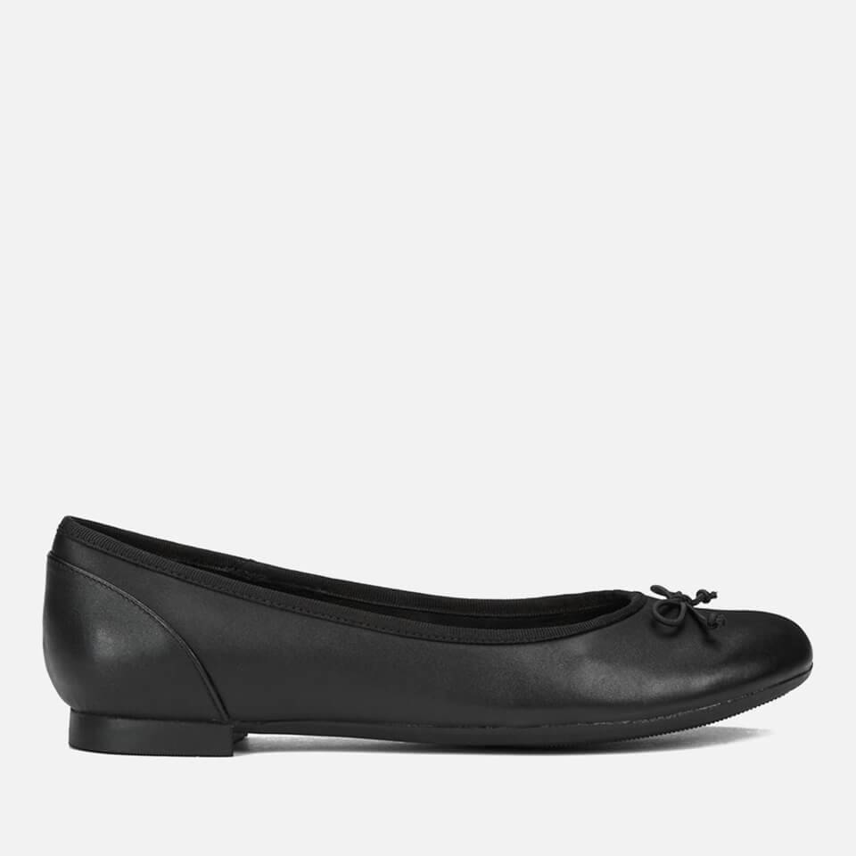 Clarks Women's Couture Leather Ballet Flats - Black - UK 6