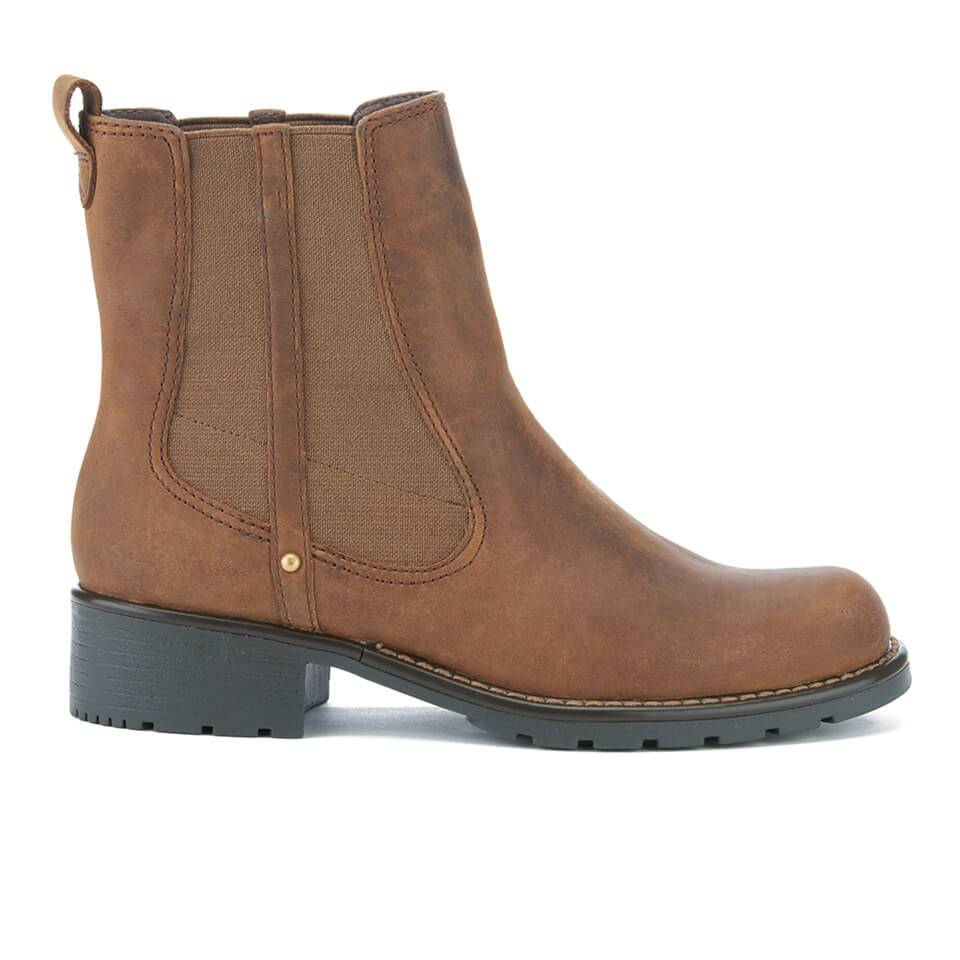 Clarks Women's Orinoco Club Leather Chelsea Boots - Brown - UK 8