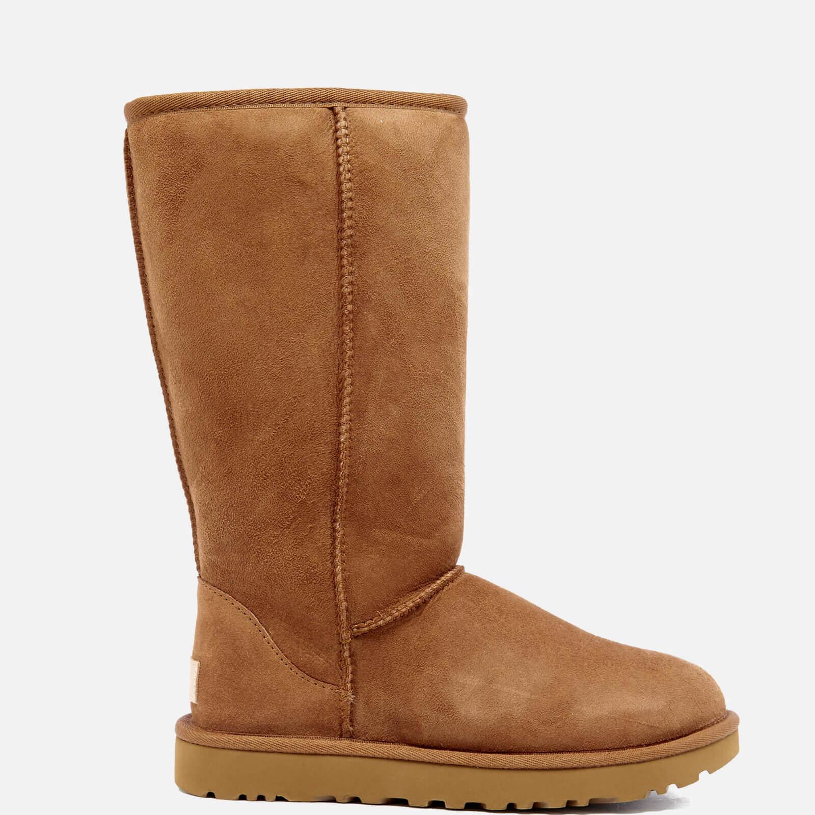 UGG Women's Classic Tall II Sheepskin Boots - Chestnut - UK 4.5