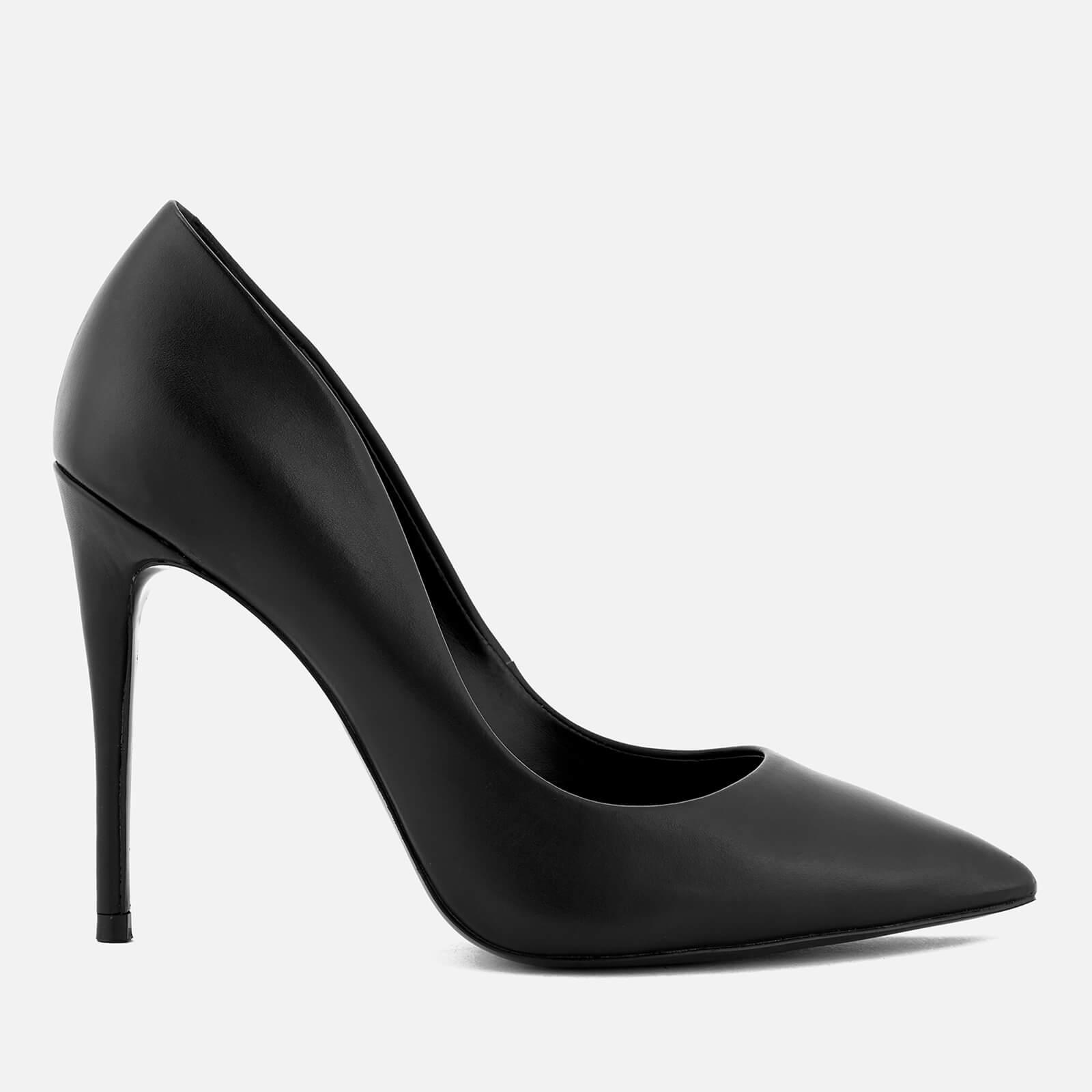 Steve Madden Women's Daisie Leather Court Shoes - Black - UK 6 - Black