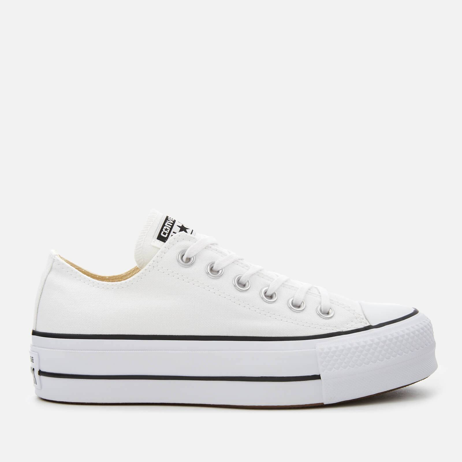 Converse Women's Chuck Taylor All Star Lift Ox Trainers - White/Black/White - UK 8