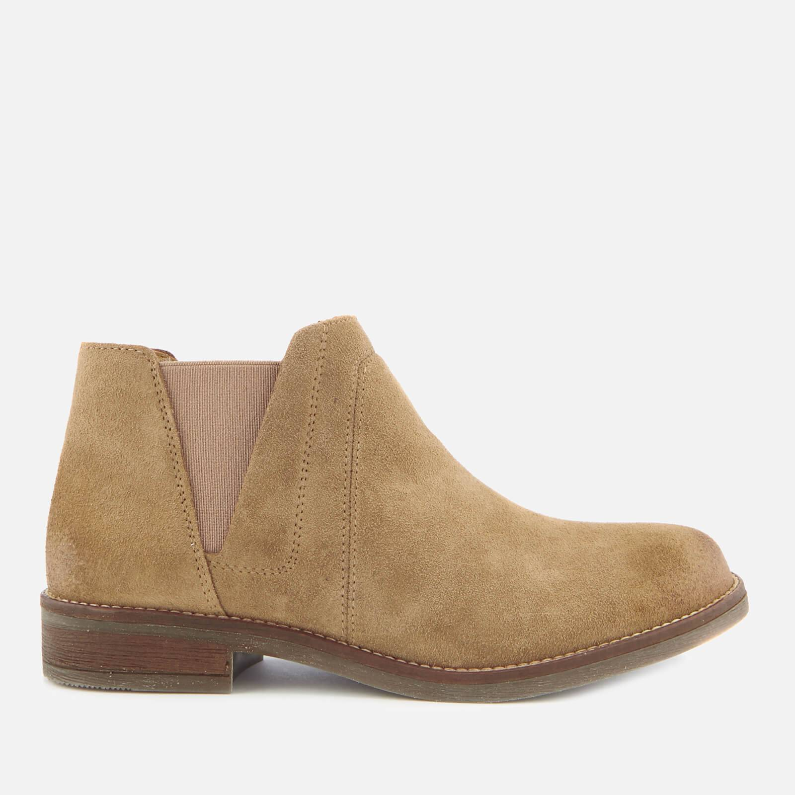 Clarks Women's Demi Beat Suede Ankle Boots - Sand - UK 3 - Beige