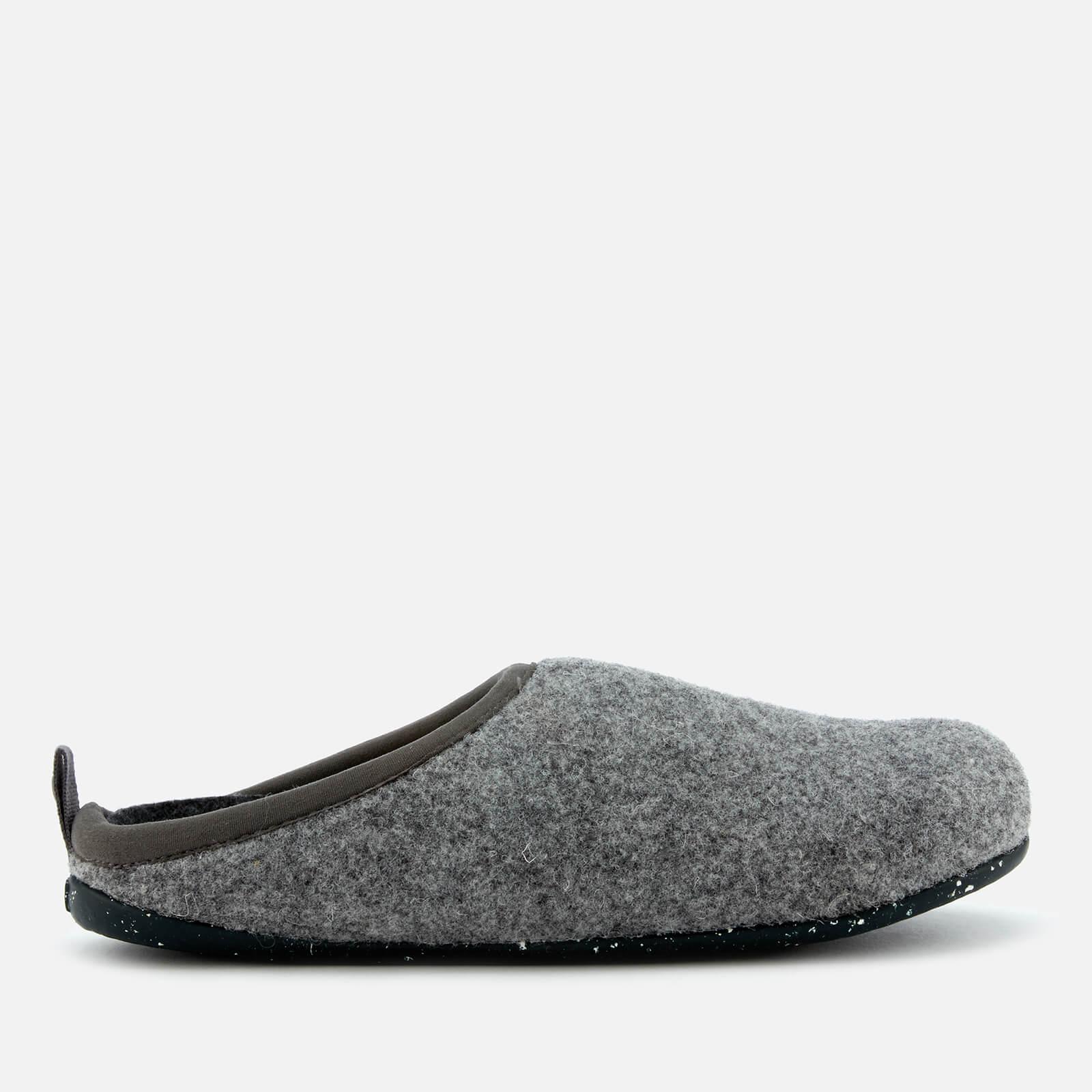 Camper Women's Wabi Mule Slippers - Light Pastel Grey - UK 4 - Grey