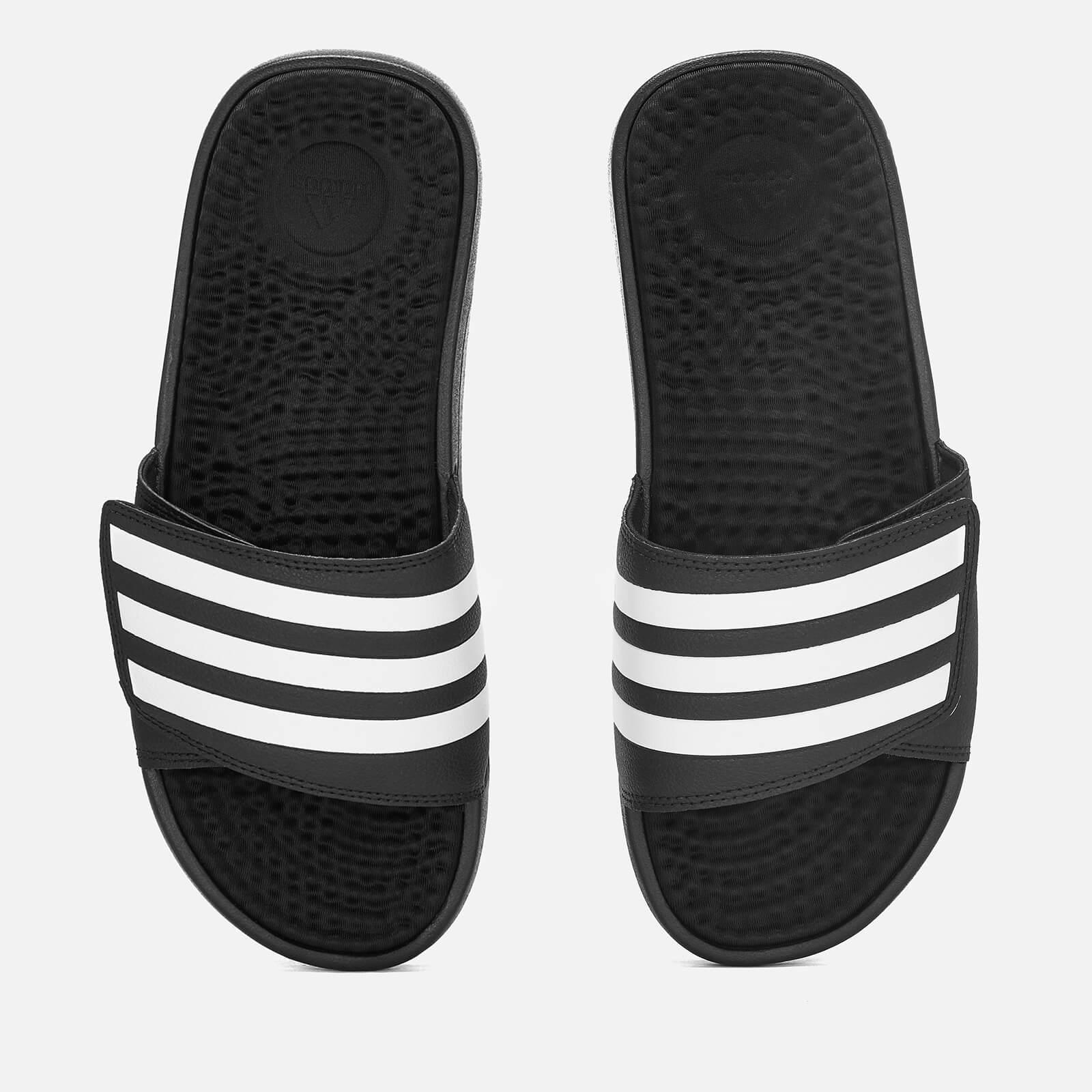 adidas Men's Adissage TND Slide Sandals - Black - UK 7 - Black