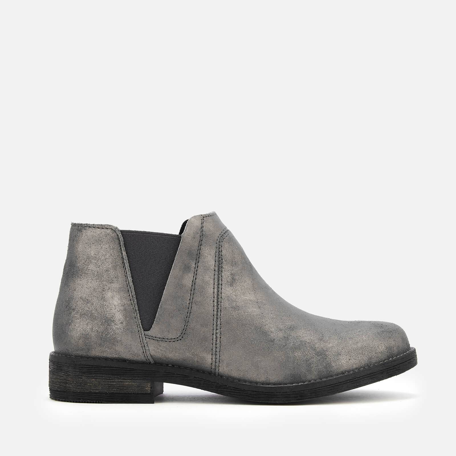Clarks Women's Demi Beat Suede Ankle Boots - Dark Grey - UK 4 - Grey