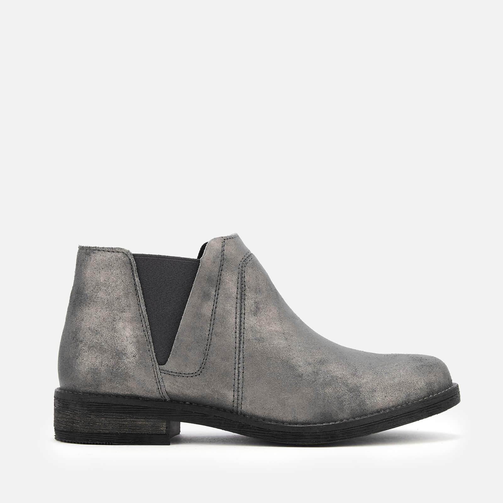 Clarks Women's Demi Beat Suede Ankle Boots - Dark Grey - UK 3 - Grey