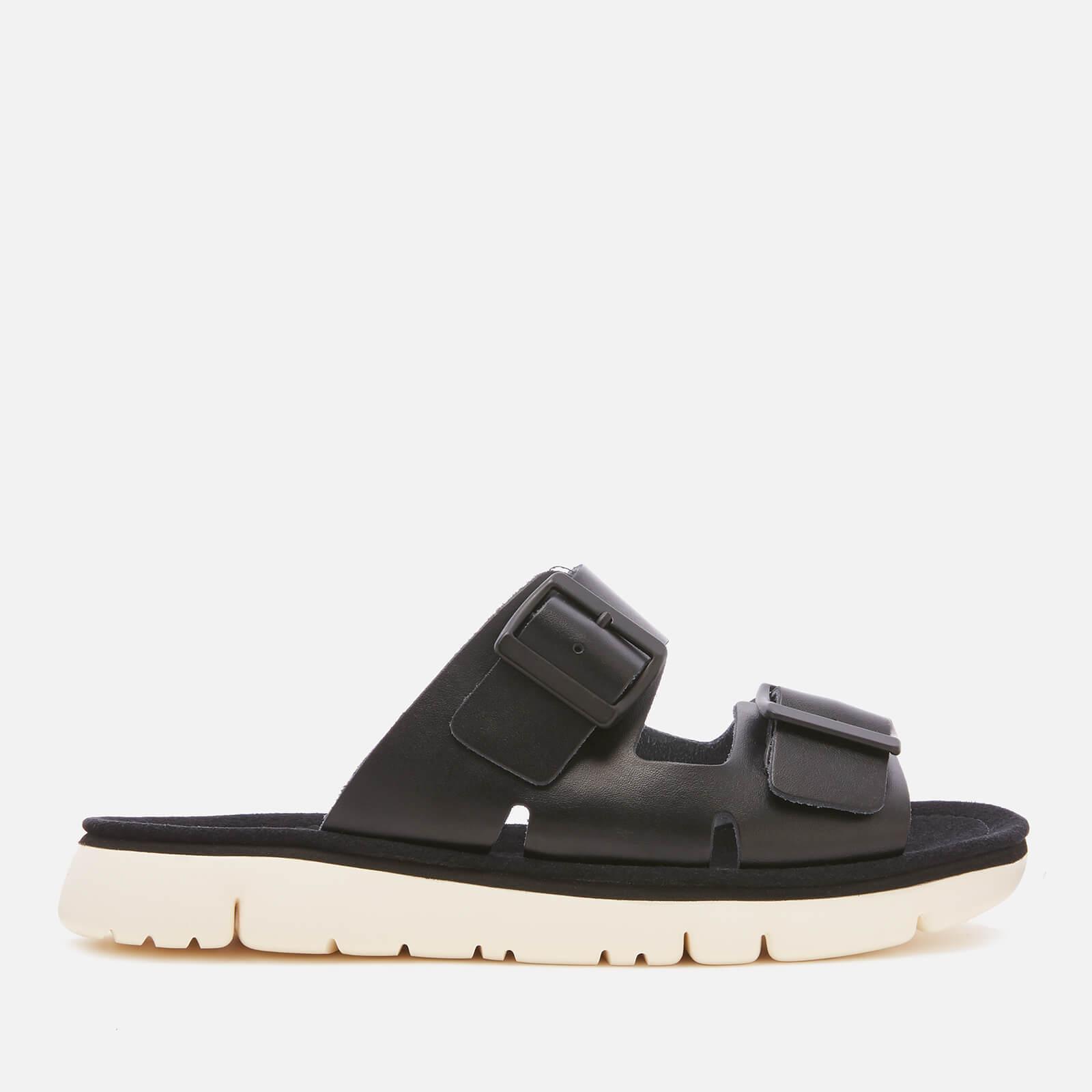 Camper Women's Oruga Double Strap Sandals - Black - UK 4 - Black
