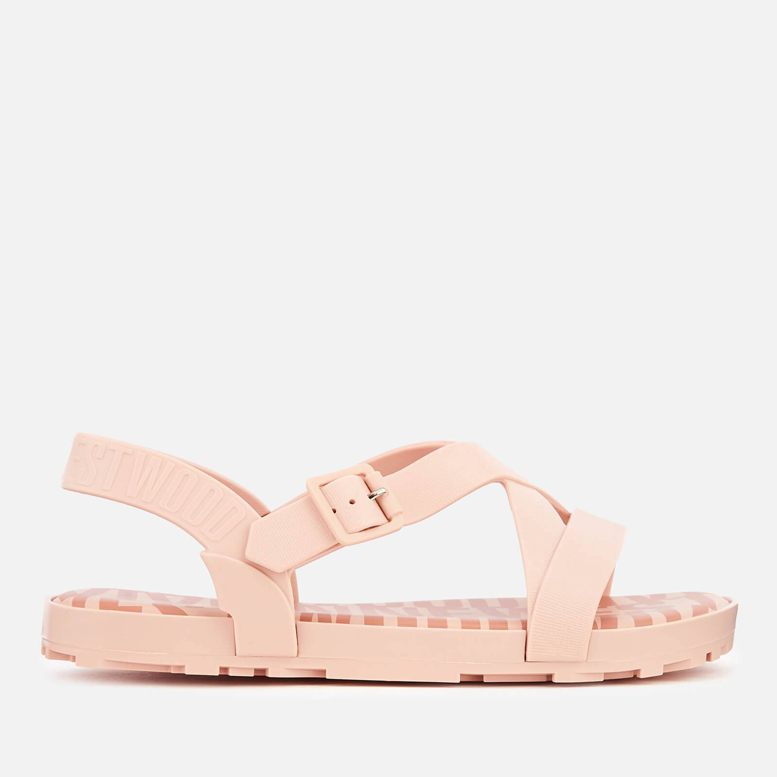 Vivienne Westwood for Melissa Women's Hermanos Strappy Sandals - Baby Pink - UK 3 - Pink