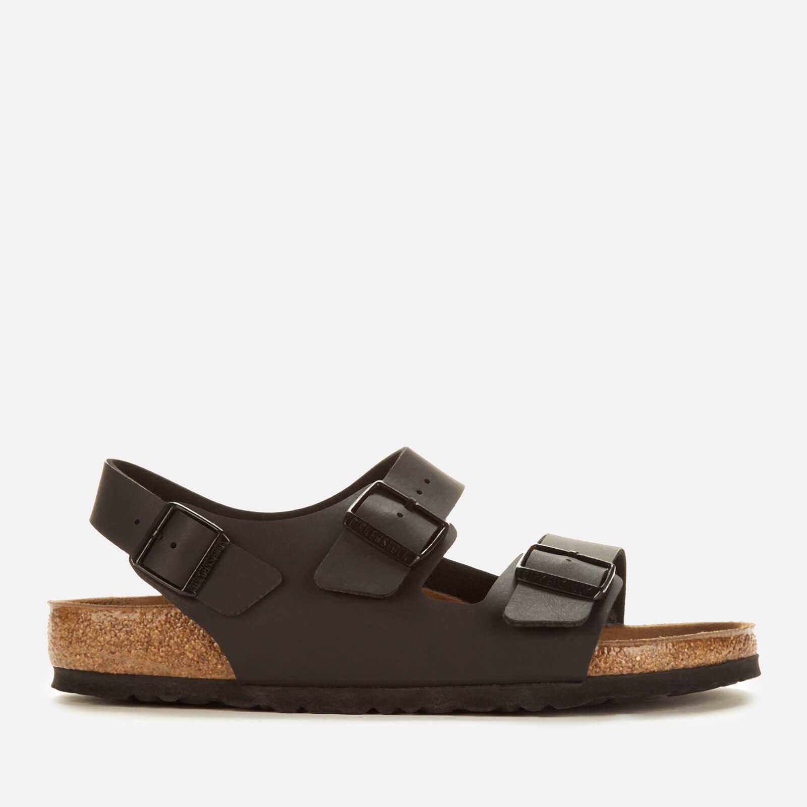 Birkenstock Men's Milano Double Strap Sandals - Black - EU 41/UK 7.5
