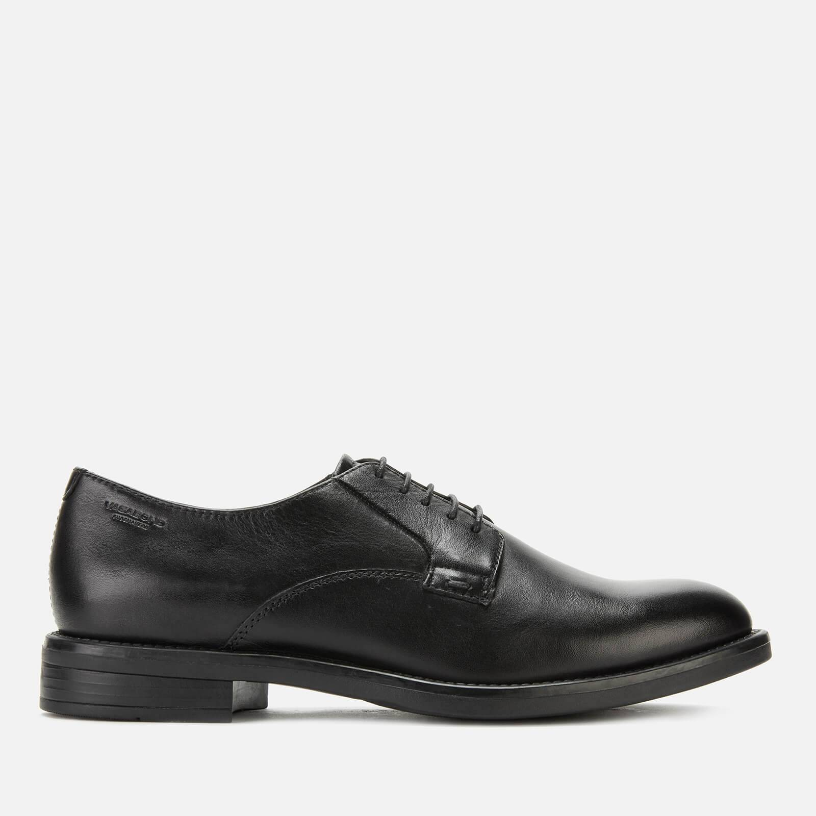 Vagabond Women's Amina Leather Derby Shoes - Black - UK 4 - Black