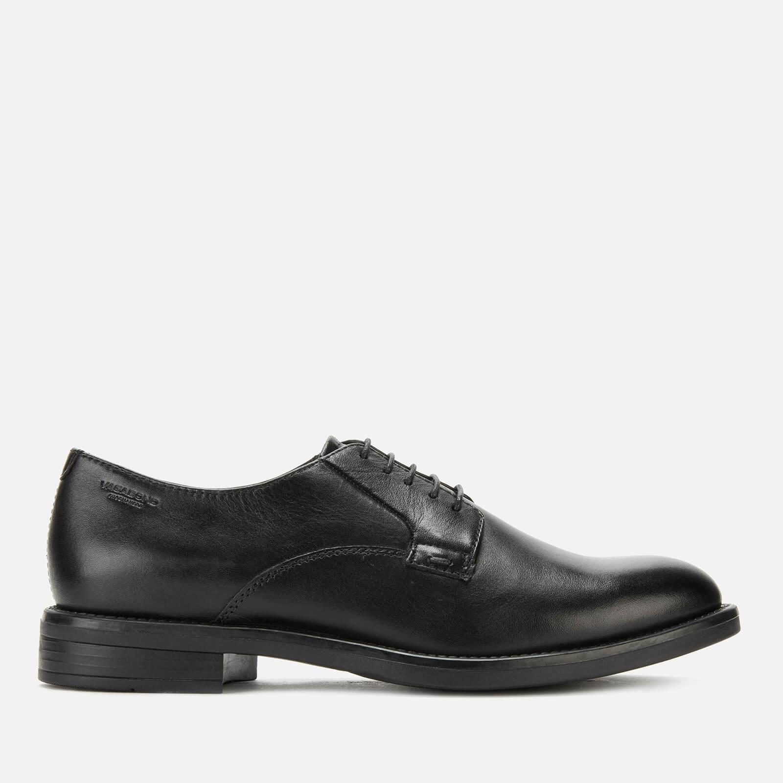 Vagabond Women's Amina Leather Derby Shoes - Black - UK 7 - Black