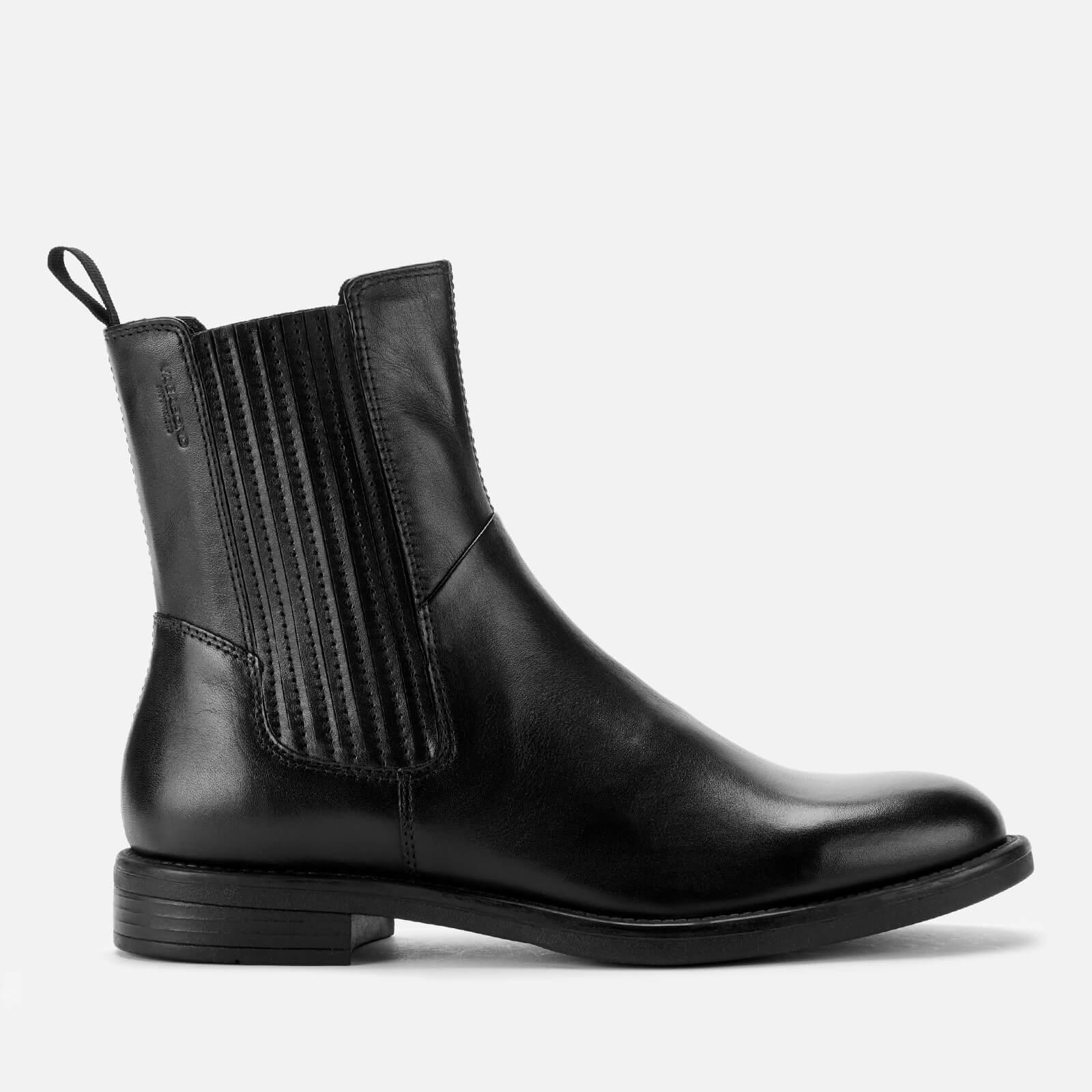 Vagabond Women's Amina Leather Chelsea Boots - Black - UK 3 - Black