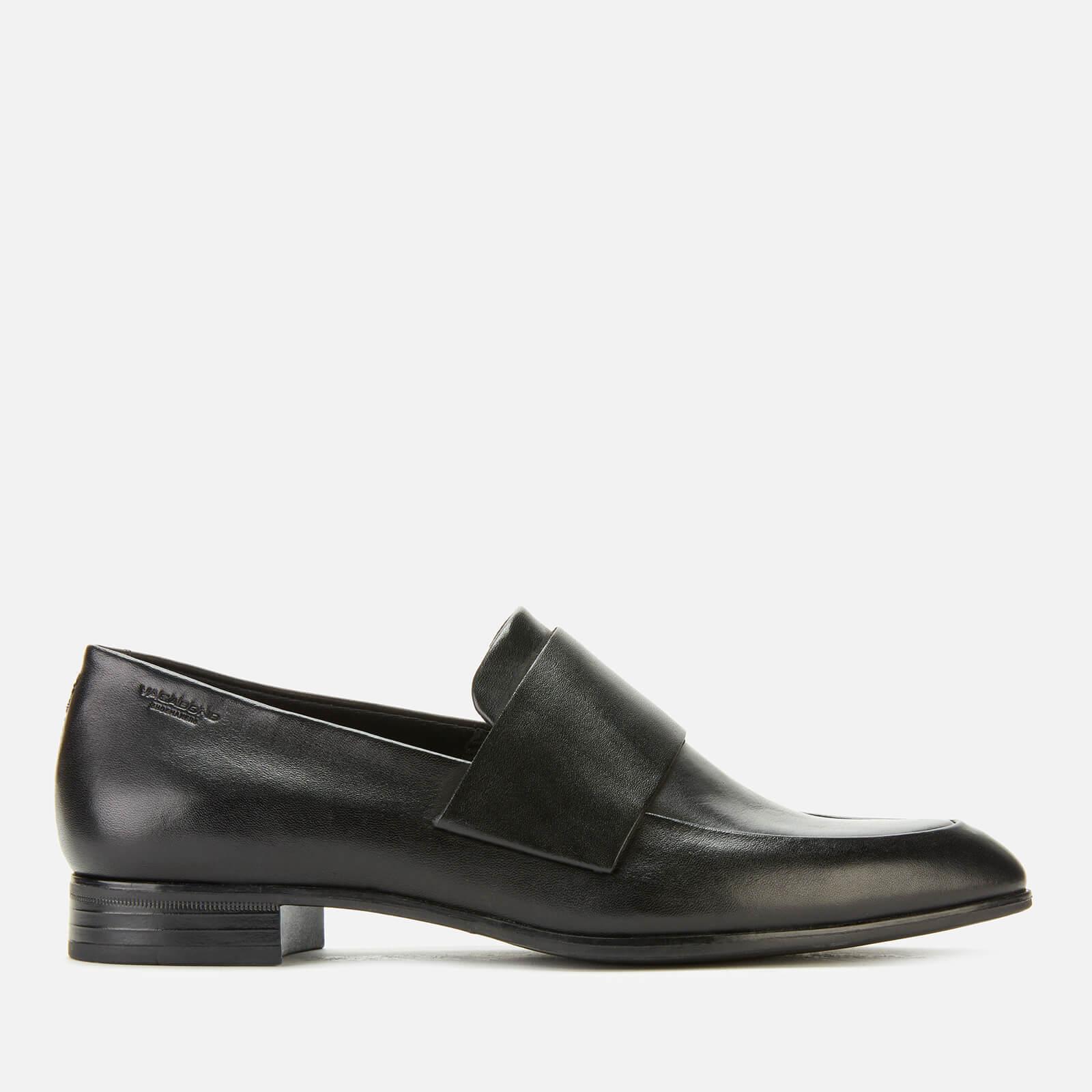 Vagabond Women's Frances Leather Slip-On Shoes - Black - UK 6 - Black
