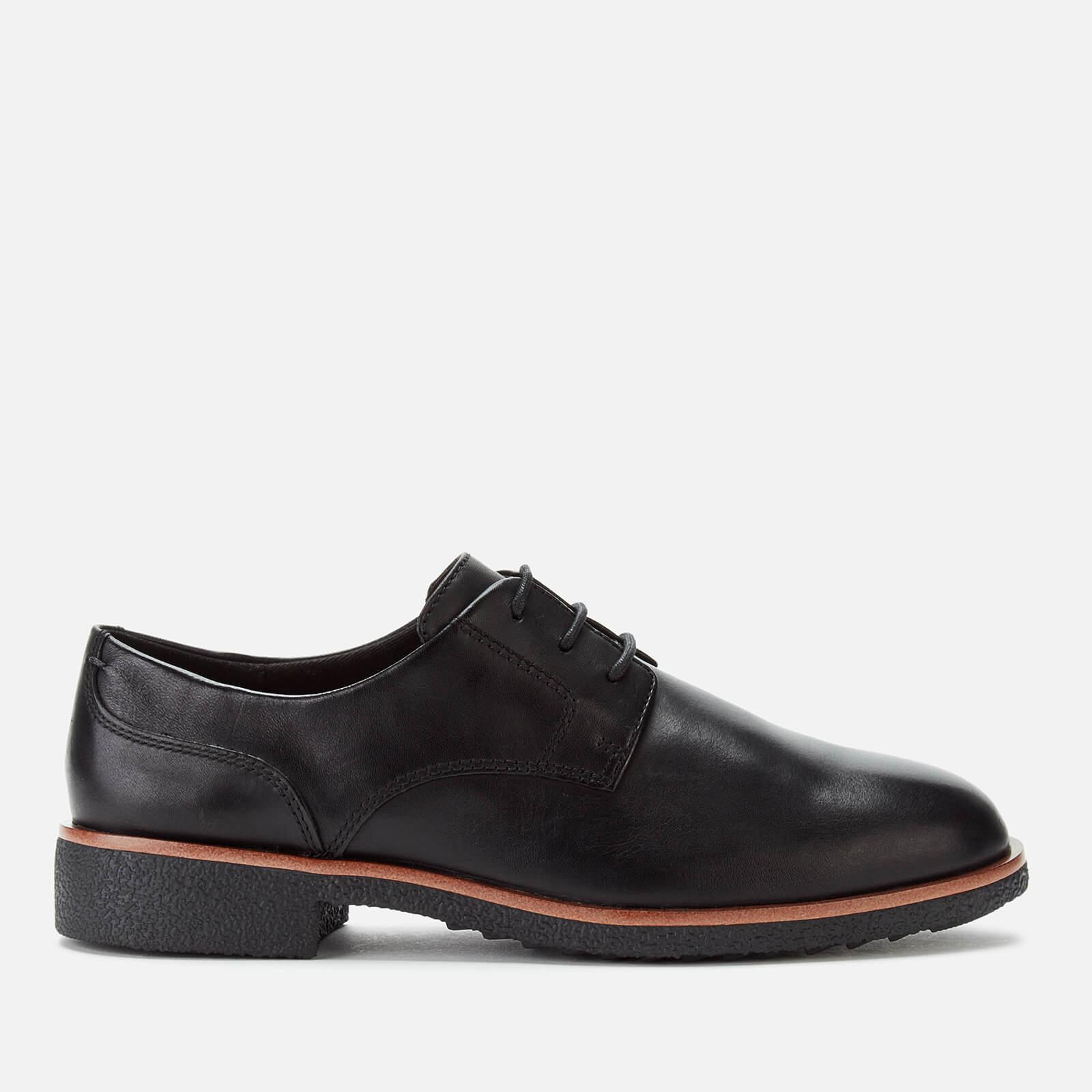 Clarks Women's Griffin Lane Leather Derby Shoes - Black - UK 6
