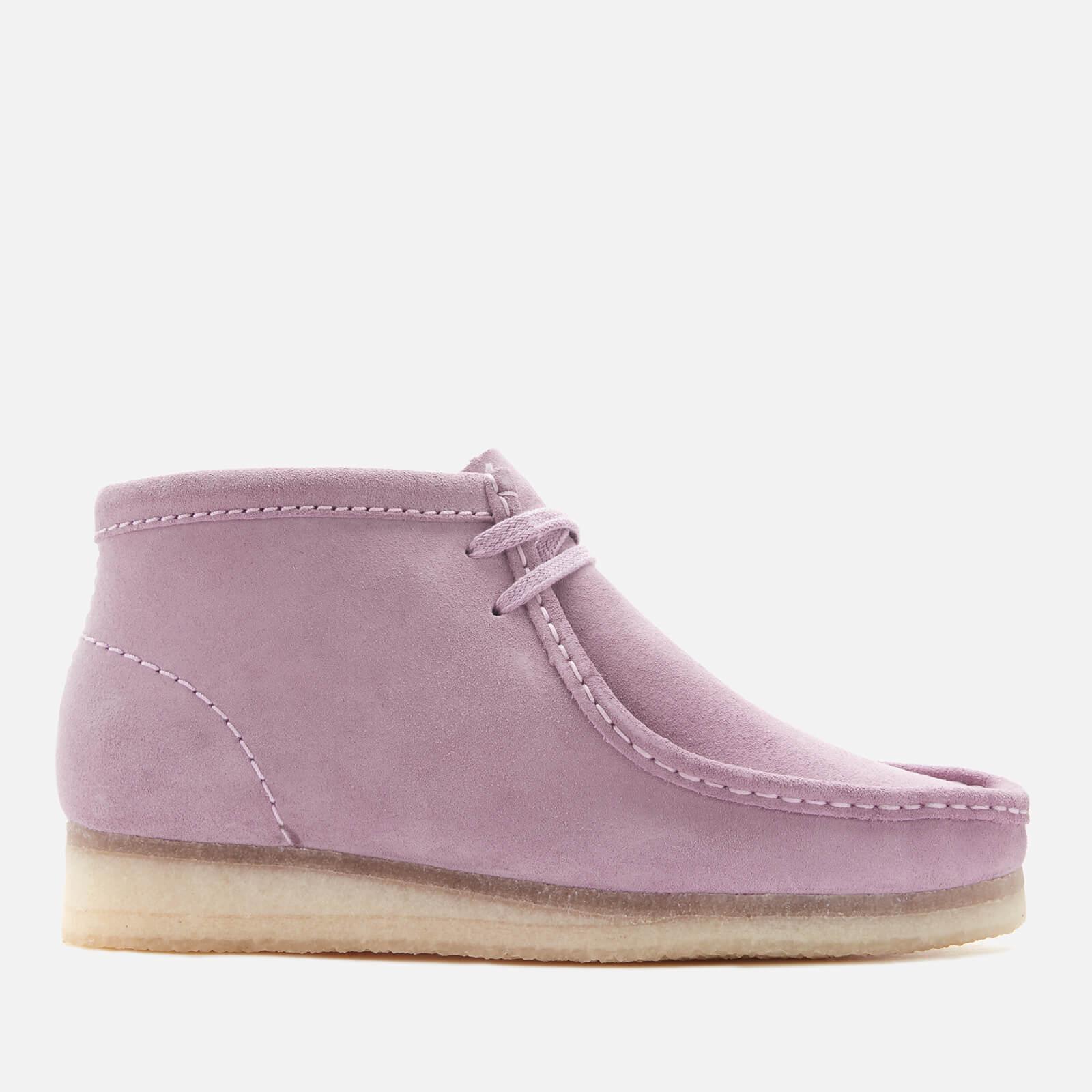 Clarks Originals Women's Wallabee Suede Shoes - Lavender - UK 4
