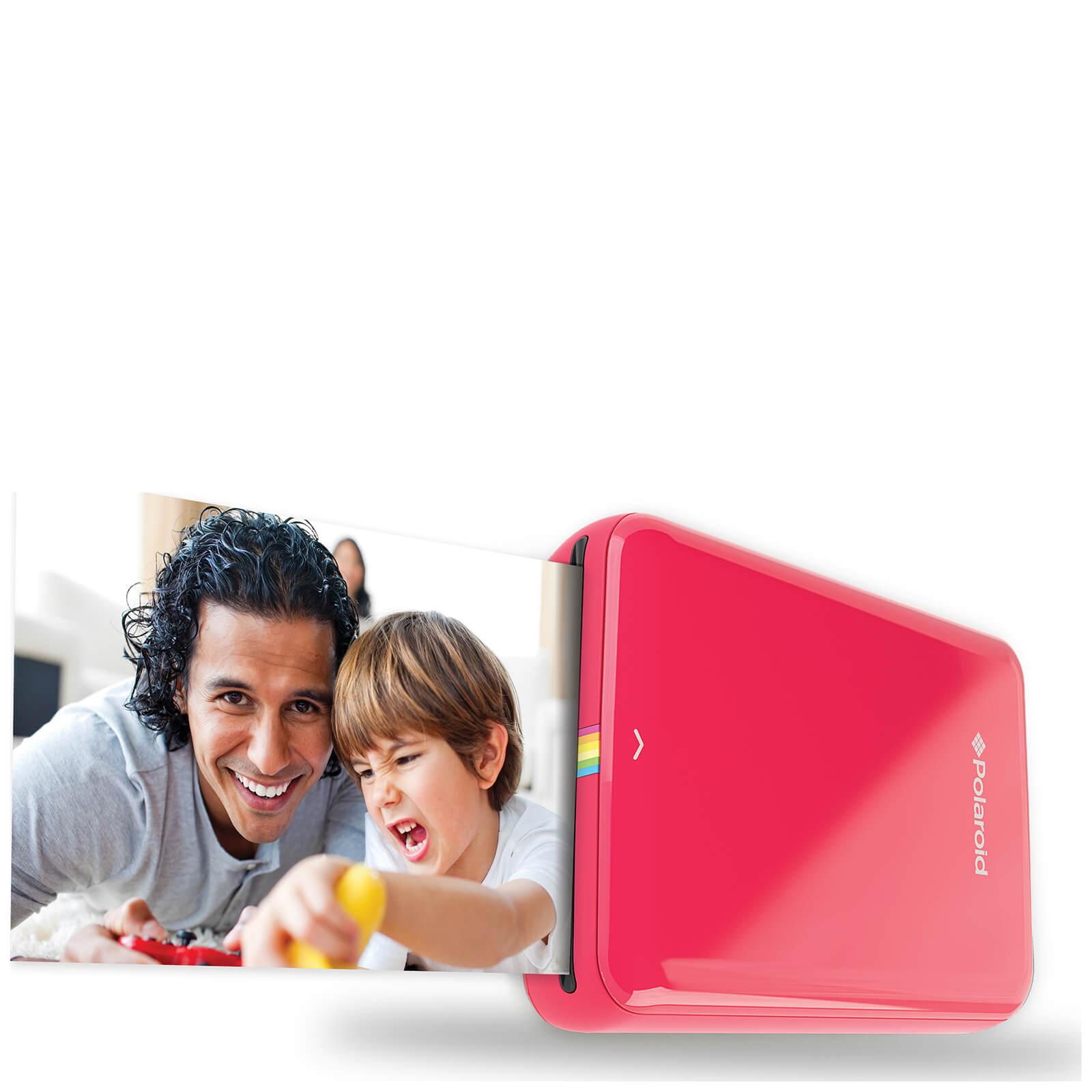 Polaroid Zip Bluetooth Instant Mobile Printer - Red