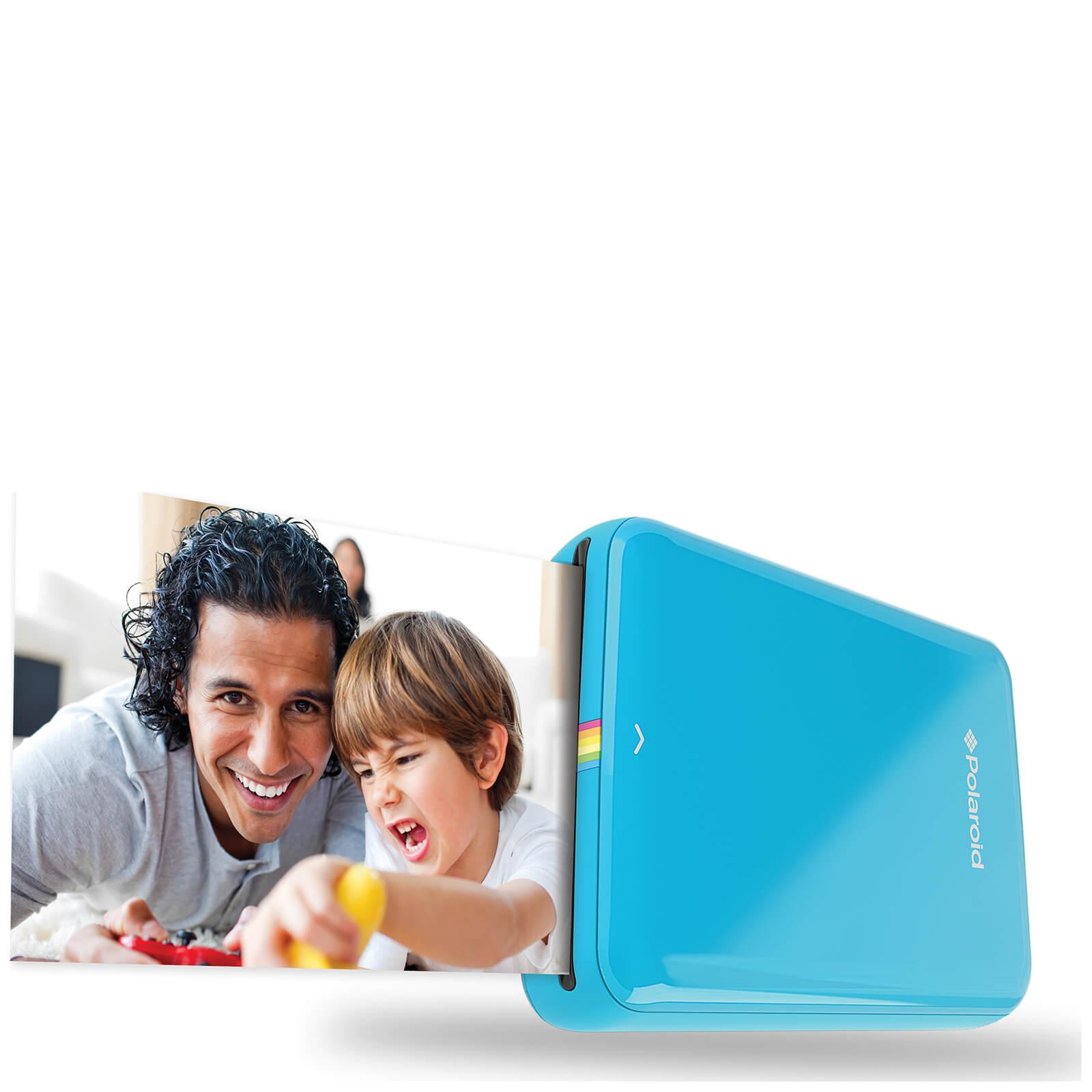 Polaroid Zip Bluetooth Instant Mobile Printer - Blue