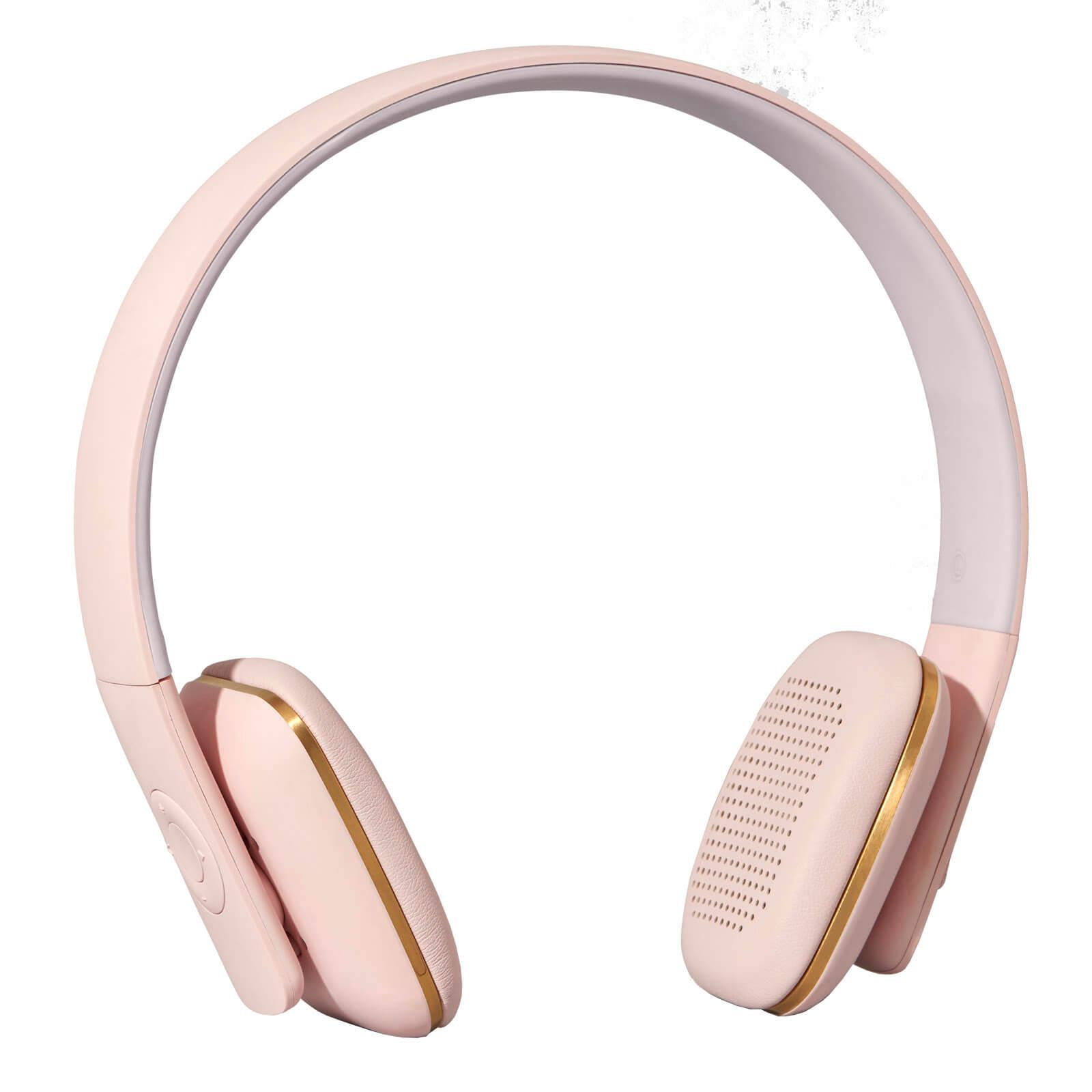 Kreafunk aHEAD Bluetooth Headphones - Dusty Pink