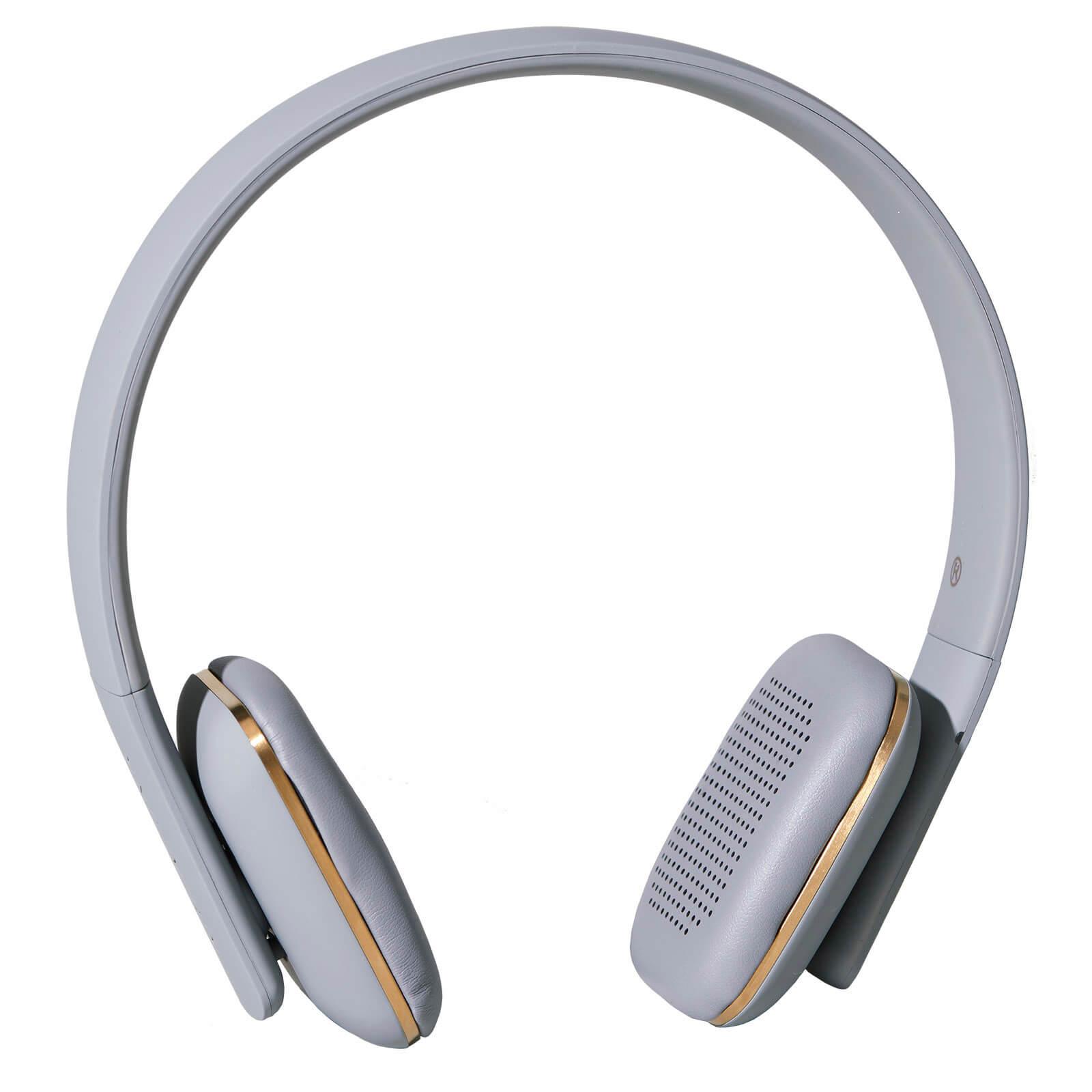 Kreafunk aHEAD Bluetooth Headphones - Cool Grey