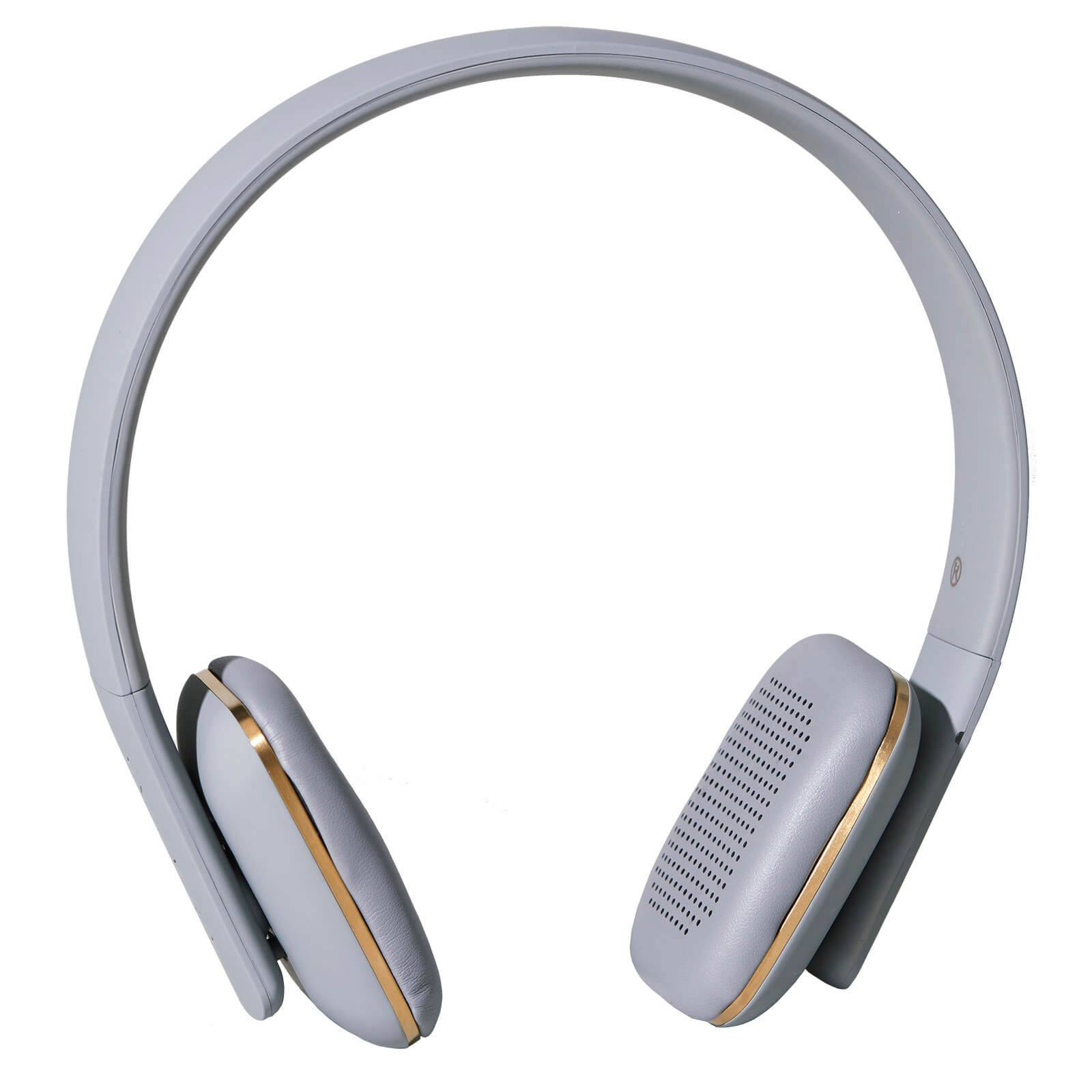 Kreafunk aHEAD Bluetooth Headphones - Cool Grey