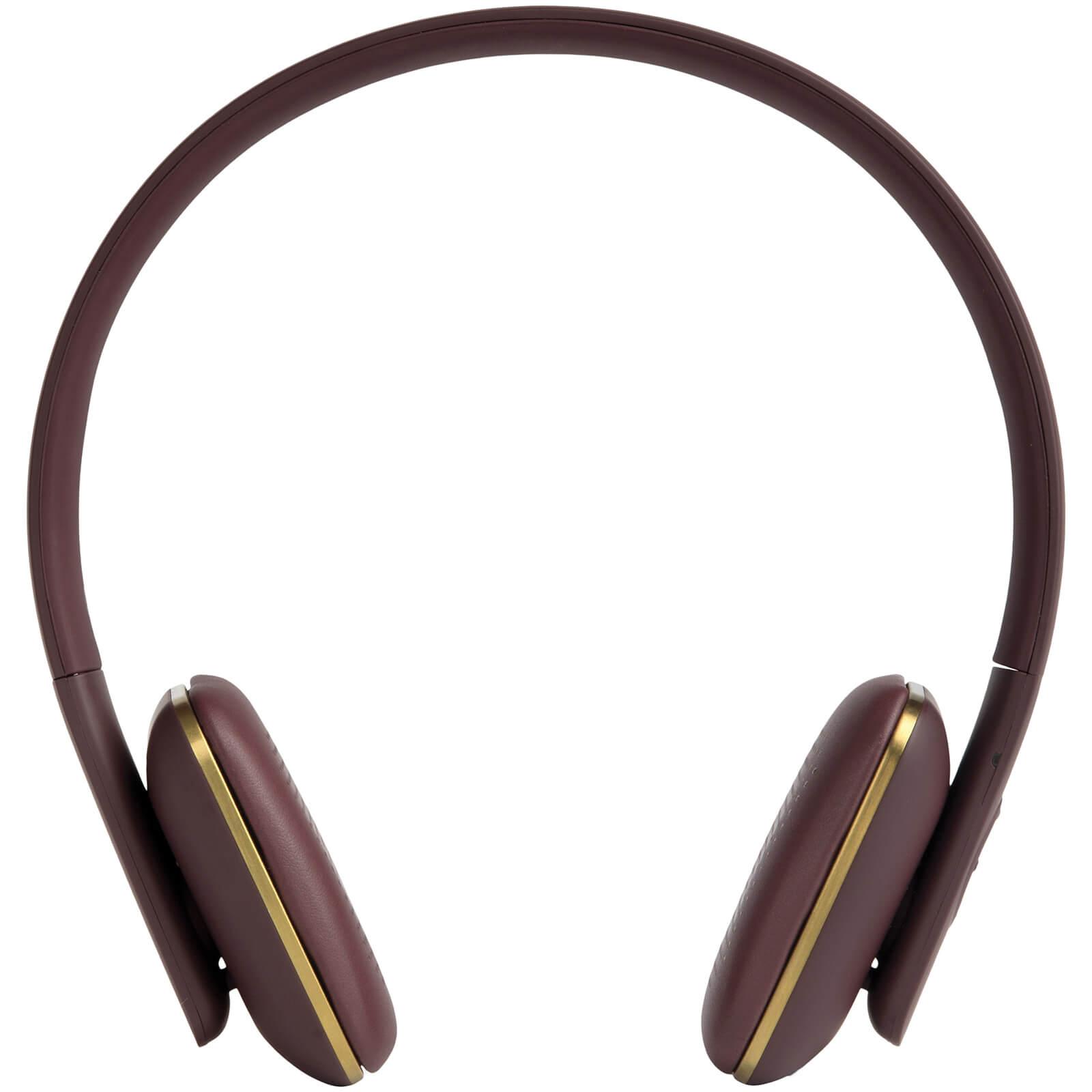 Kreafunk aHEAD Bluetooth Headphones - Plum