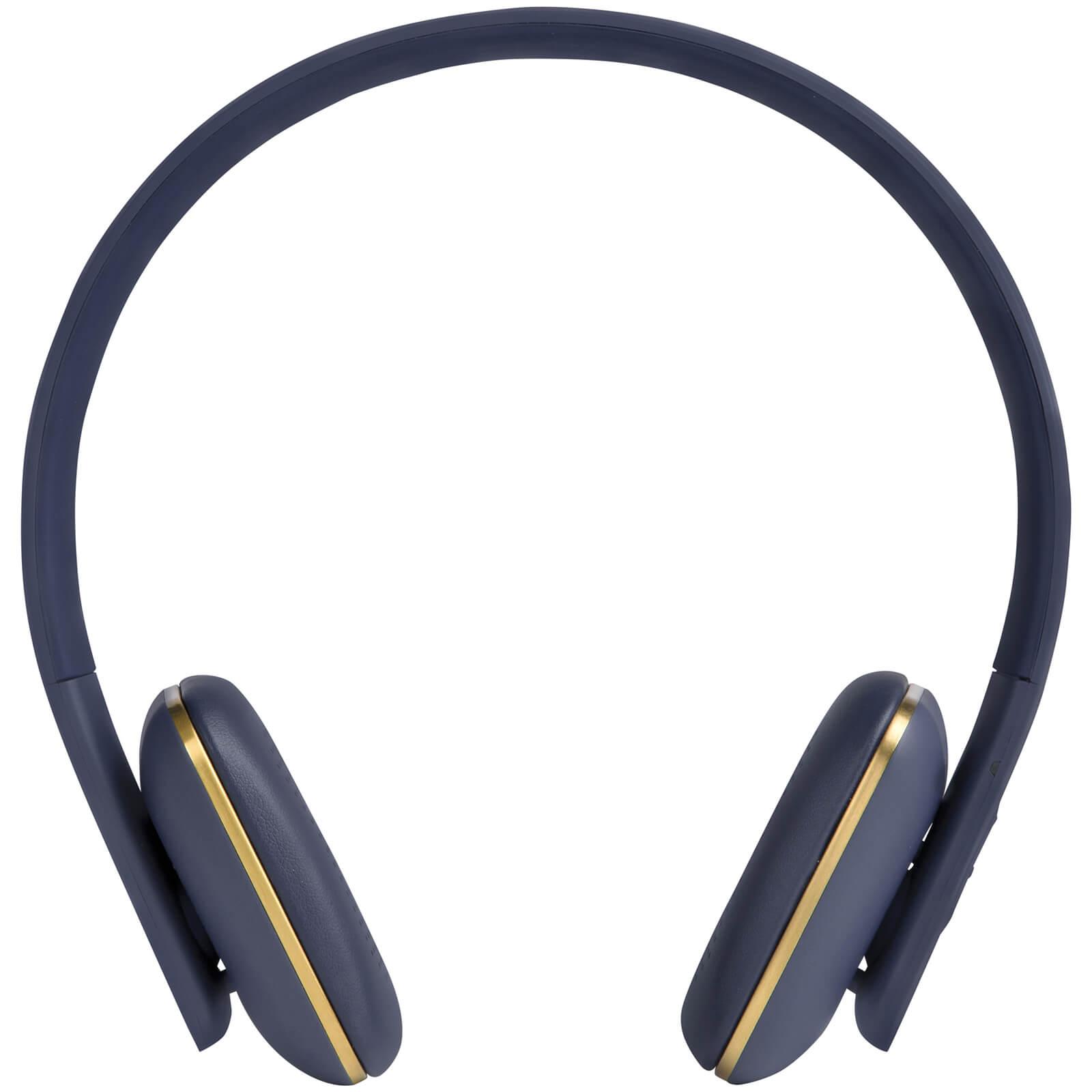 Kreafunk aHEAD Bluetooth Headphones - Blue