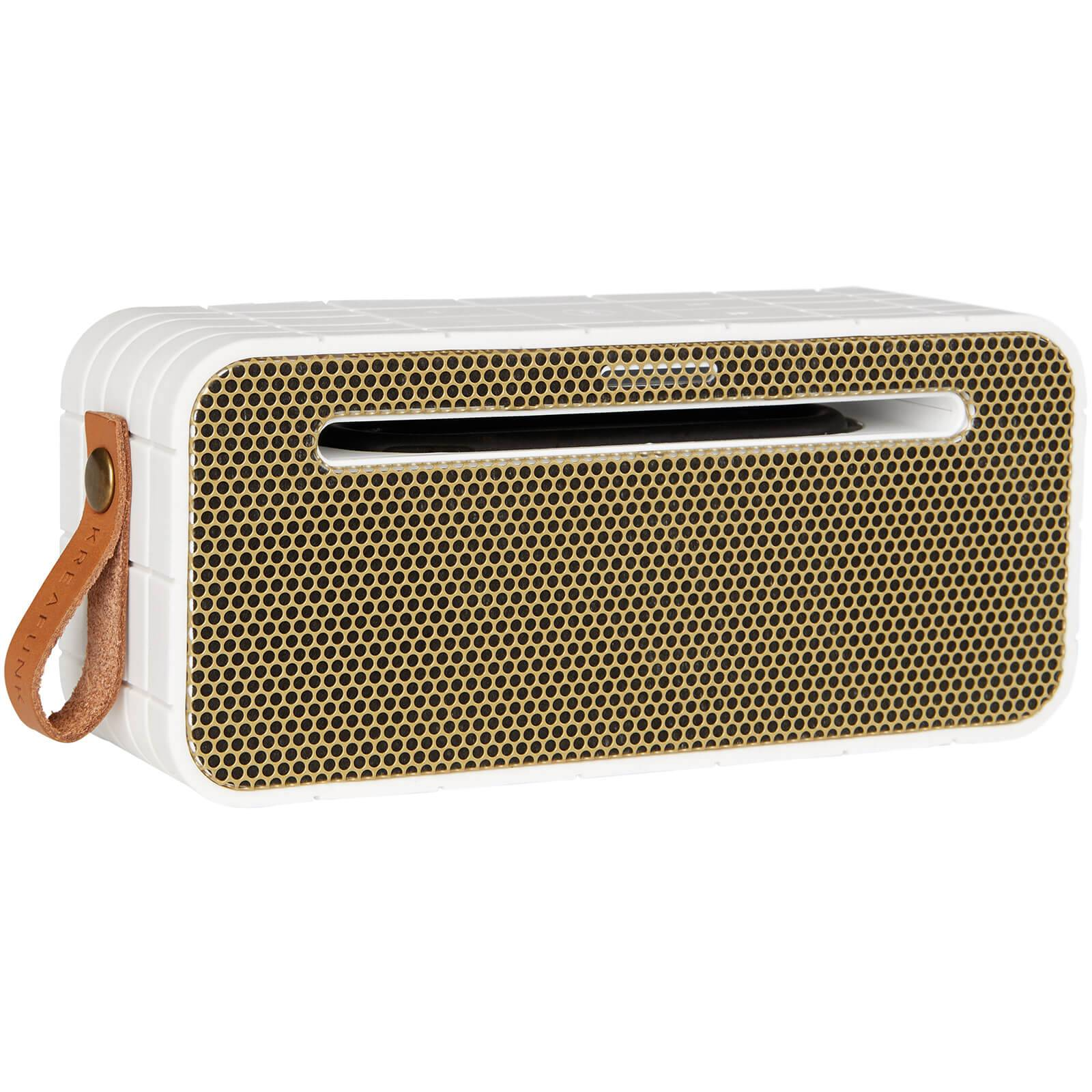 Kreafunk aMOVE Bluetooth Speaker - White