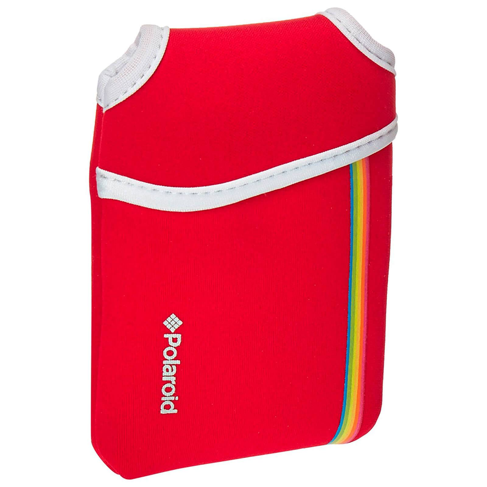 Polaroid Neoprene Pouch (For Snap Instant Digital Print Camera) - Red