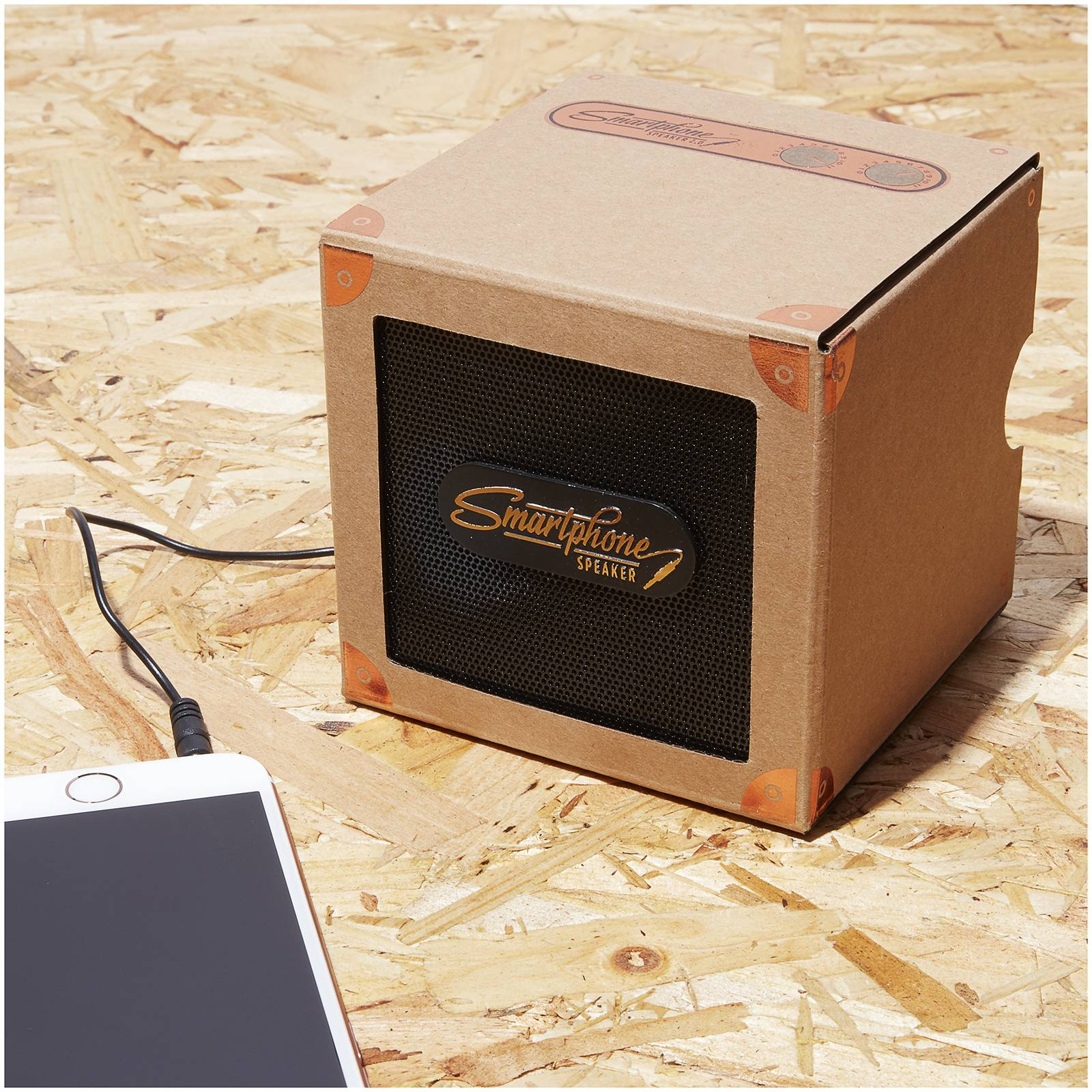Luckies Of London Smartphone Speaker 2.0 - Copper