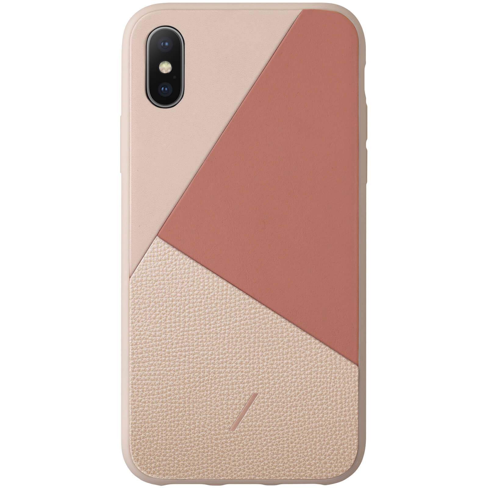 Native Union Clic Marquetry iPhone Xs Max Case - Rose
