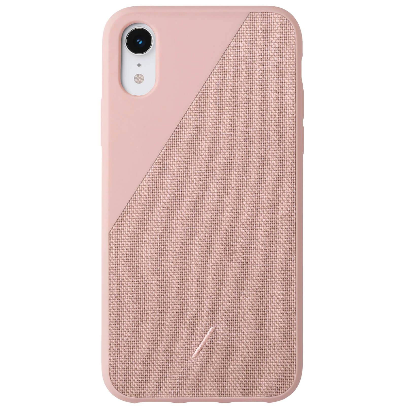 Native Union Clic Canvas iPhone XR Case - Rose