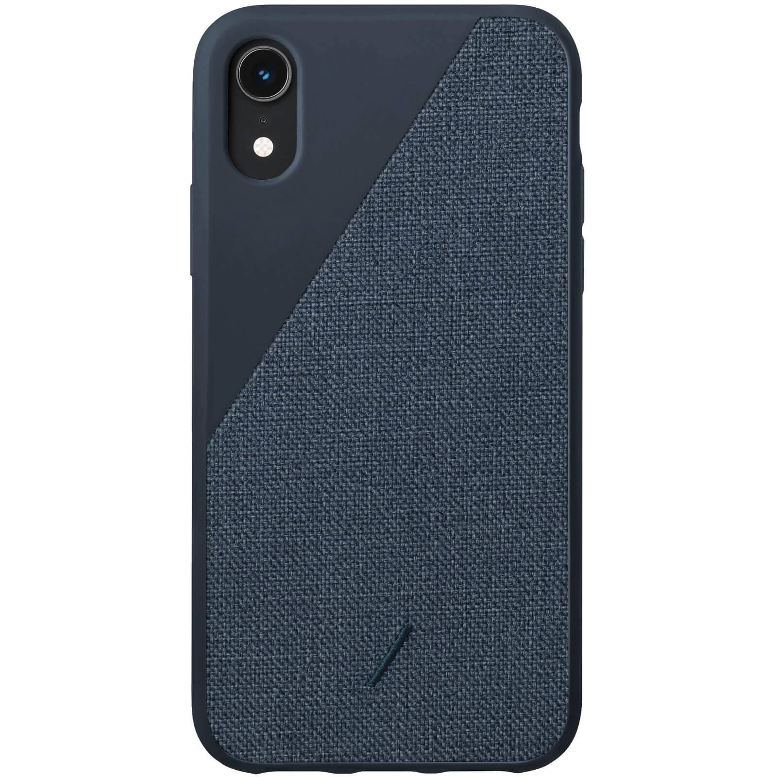 Native Union Clic Canvas iPhone XR Case - Navy