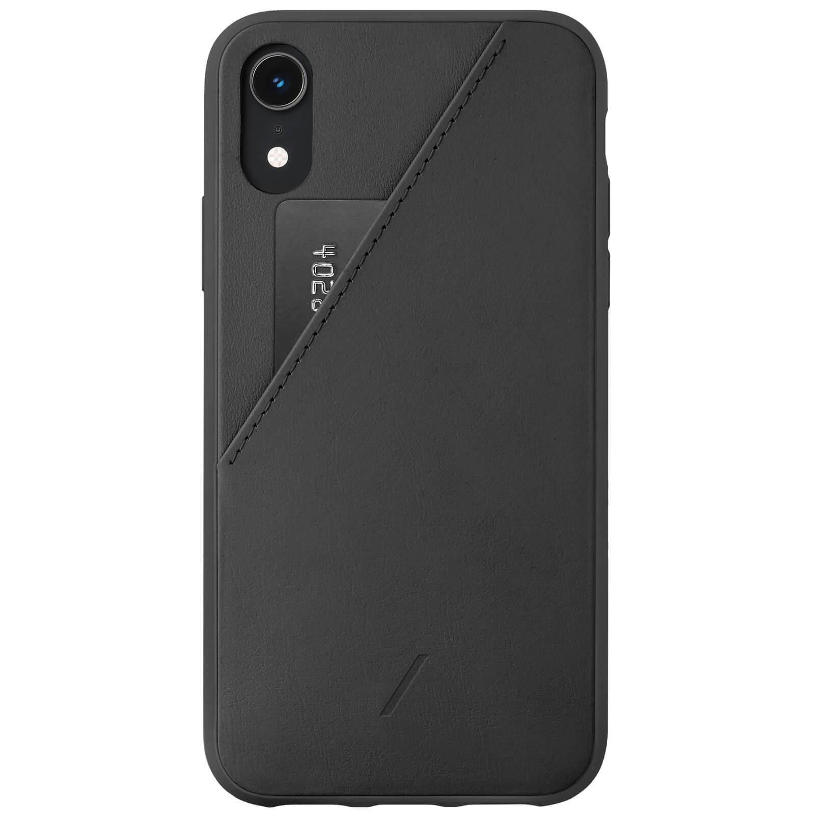 Native Union Clic Card iPhone XR Case - Black