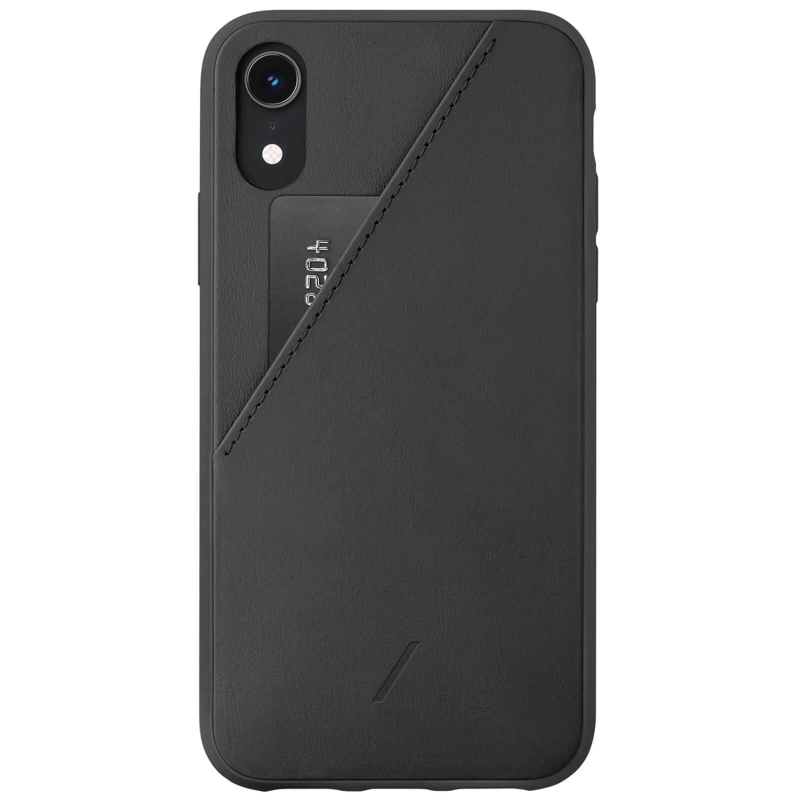 Native Union Clic Card iPhone XR Case - Black
