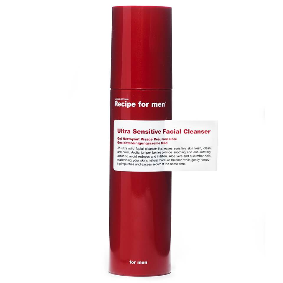 Recipe for Men - Ultra Sensitive Facial Cleanser 100ml