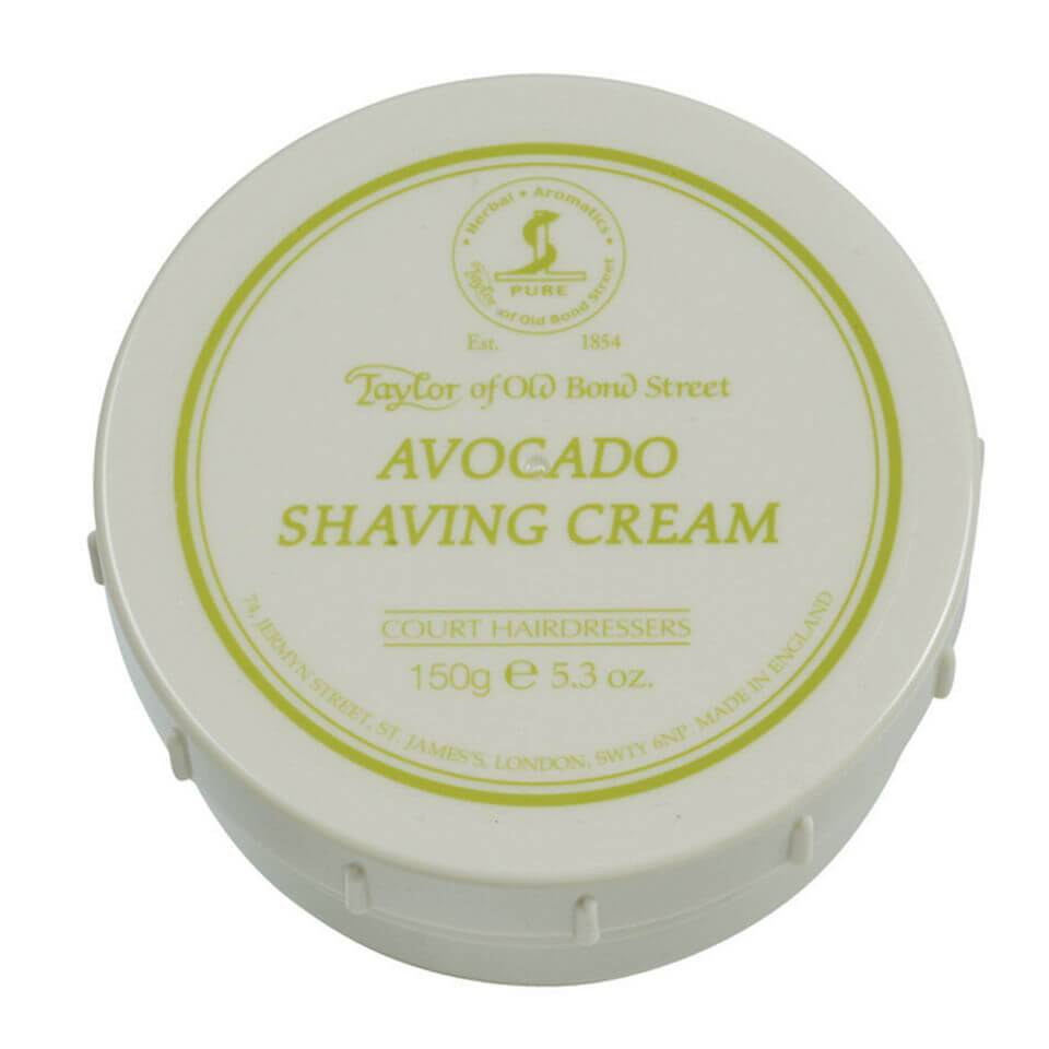 Taylor of Old Bond Street Shaving Cream Bowl (150g) - Avocado