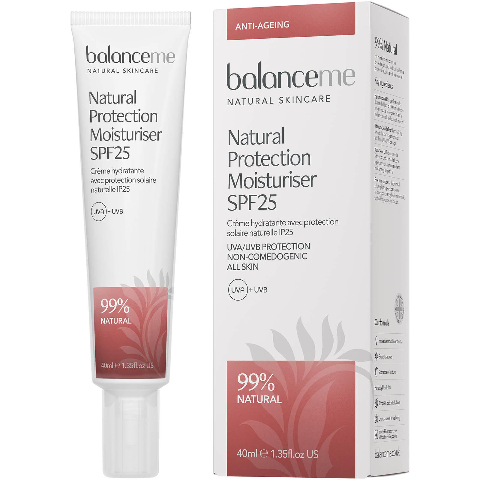 Balance Me Natural Protection Daily Moisturiser SPF 25 40ml
