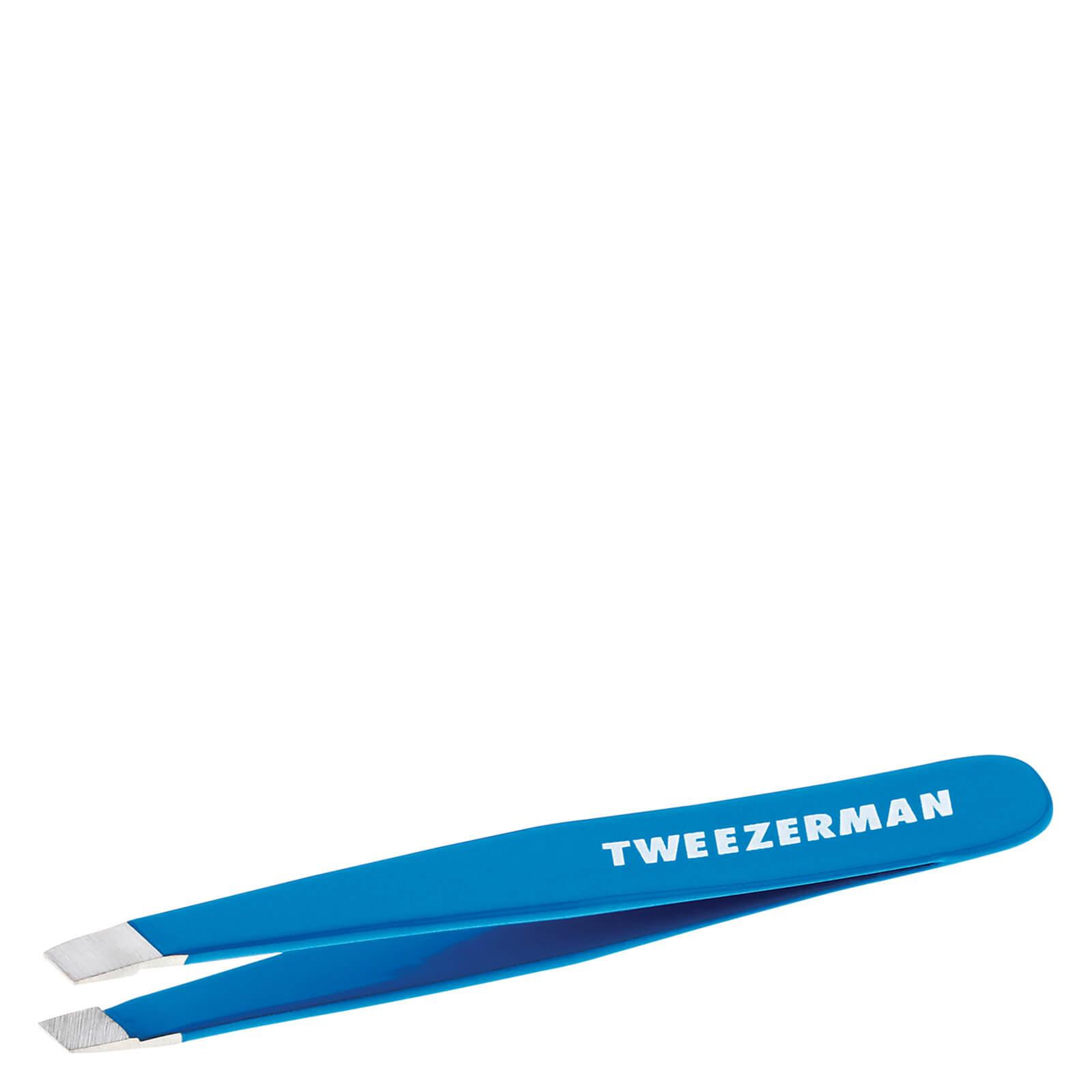 Tweezerman Mini Slant Tweezer - Blue Bahama