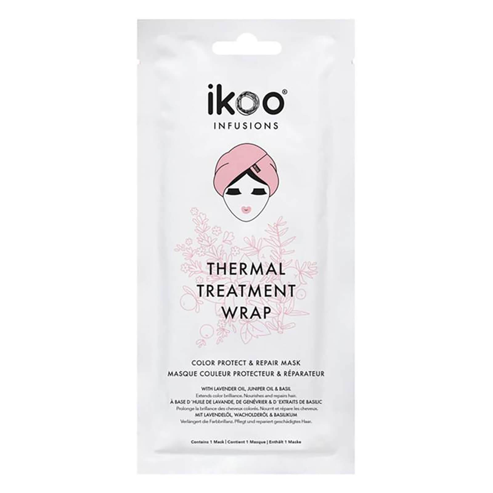 ikoo Infusions Thermal Treatment Hair Wrap Color Protect and Repair Mask 35g