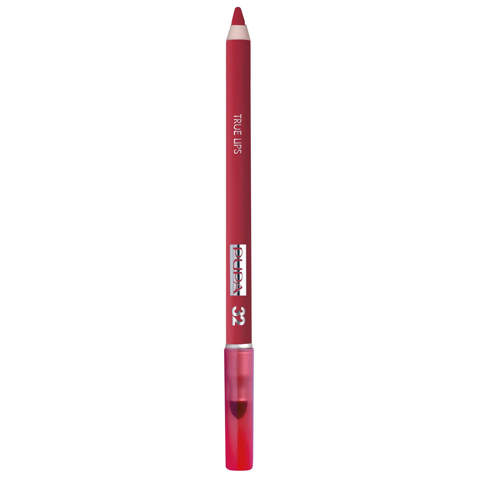 PUPA True Lips Blendable Lip Liner Pencil (Various Shades) - Strawberry Red