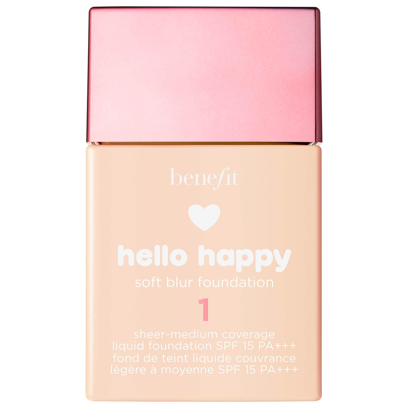 Benefit Hello Happy Soft Blur Foundation (Various Shades) - 1