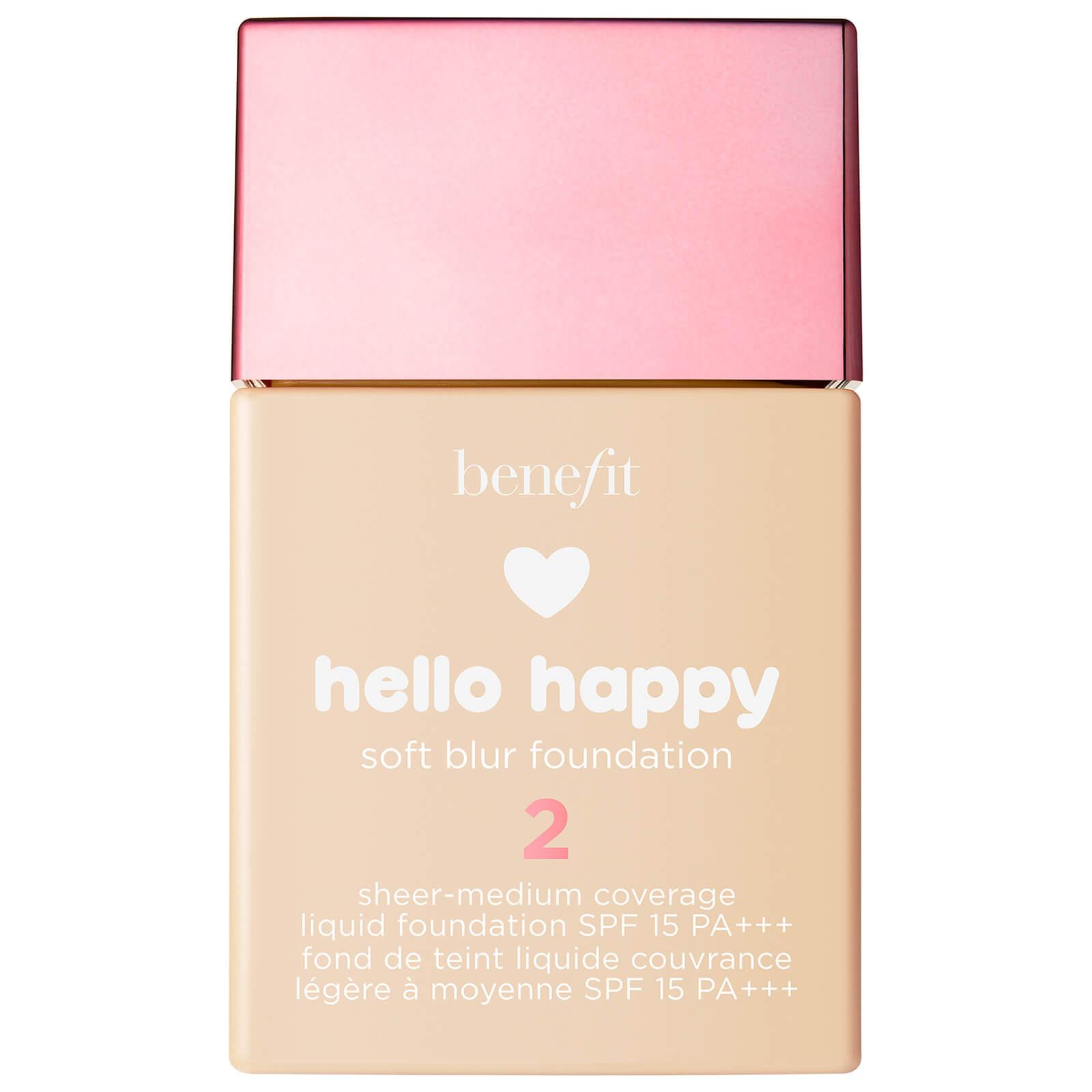Benefit Hello Happy Soft Blur Foundation (Various Shades) - 2