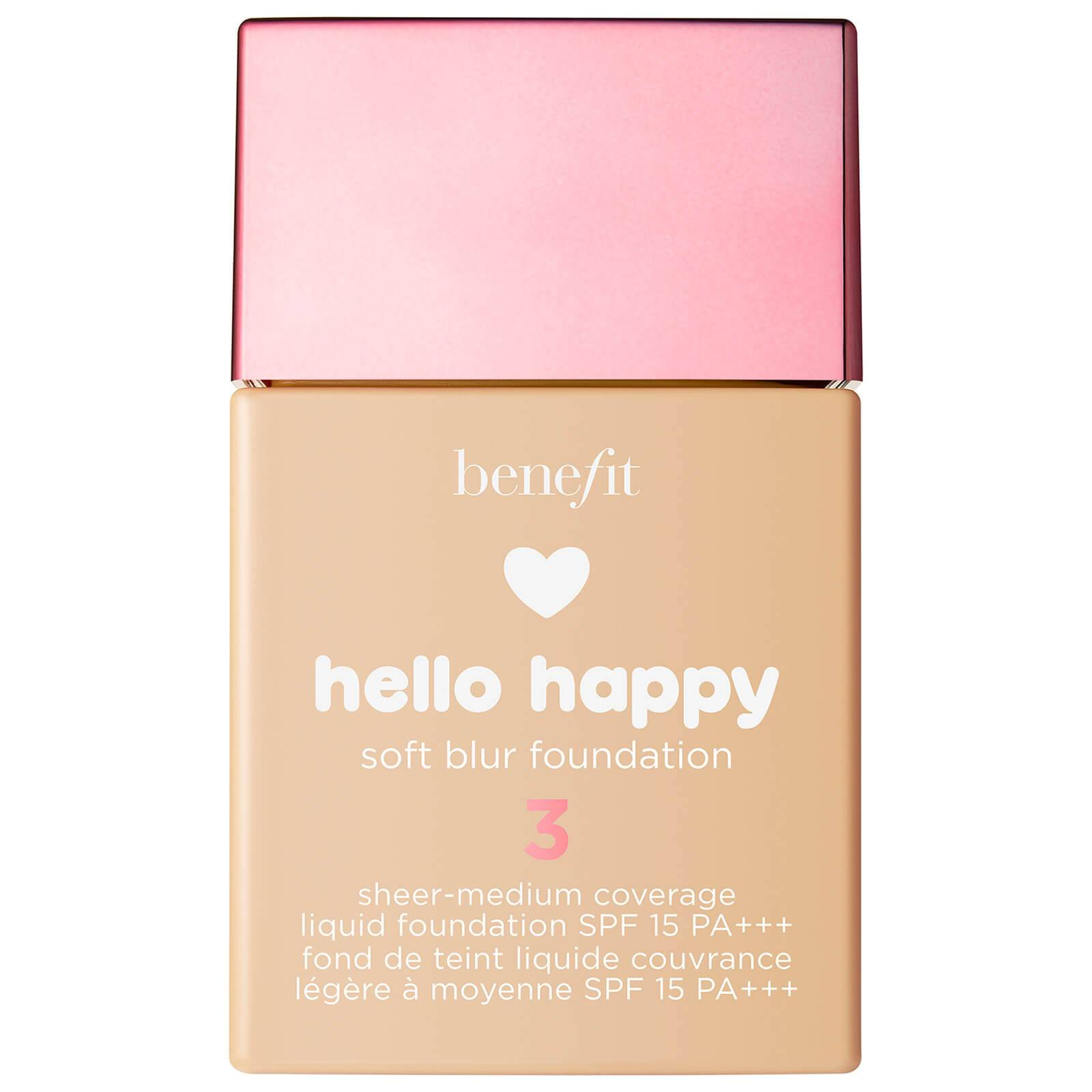 Benefit Hello Happy Soft Blur Foundation (Various Shades) - 3