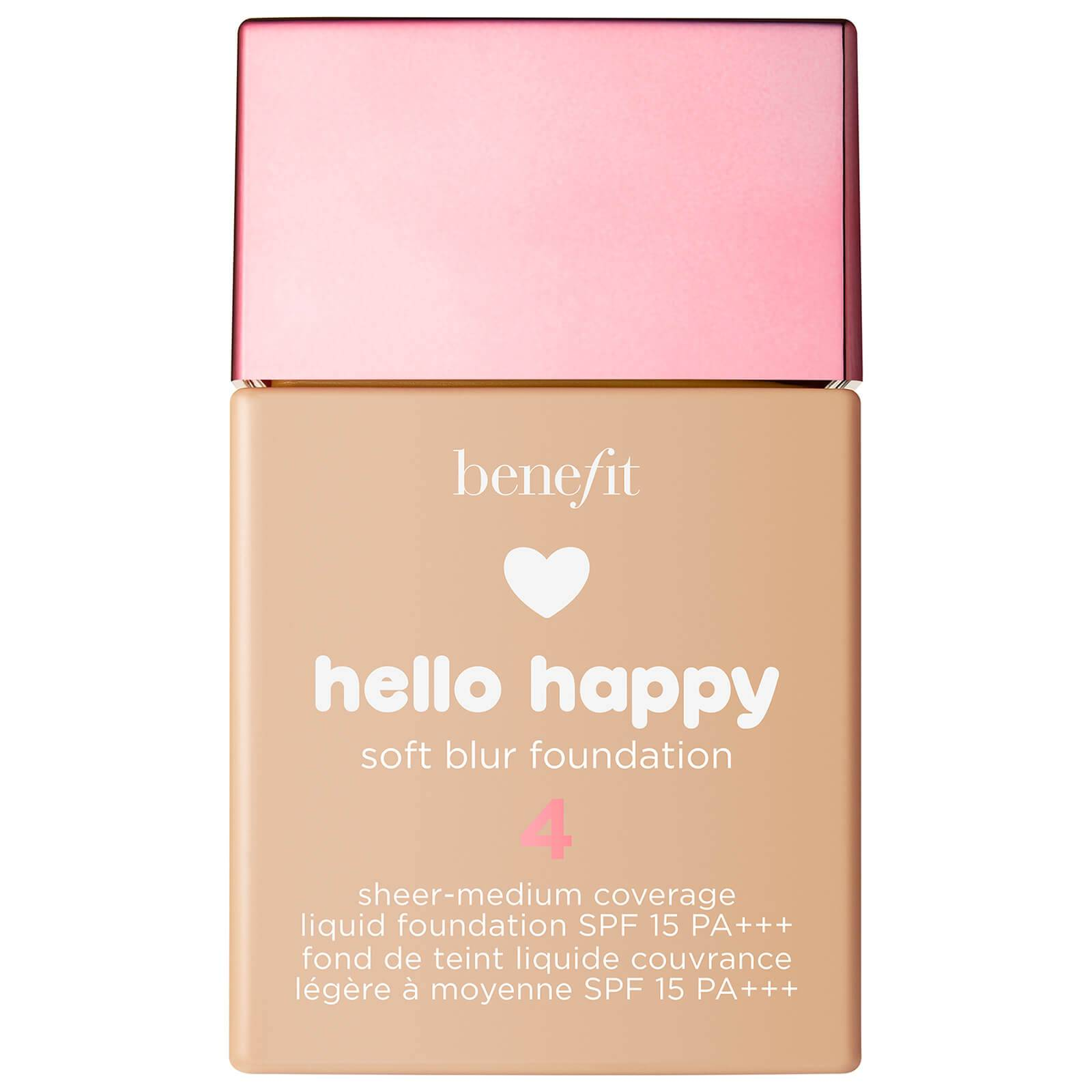 Benefit Hello Happy Soft Blur Foundation (Various Shades) - 4