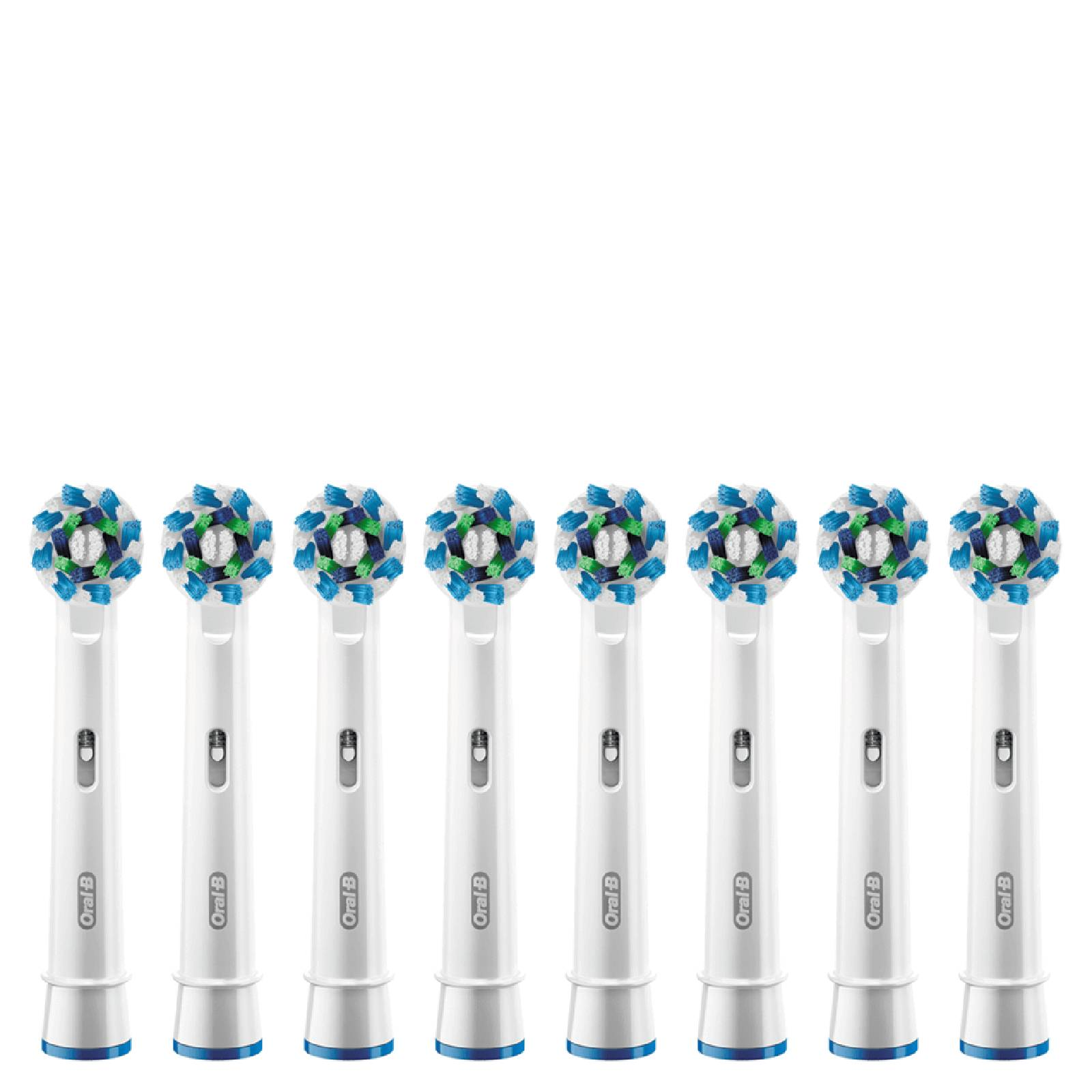 Oral B Oral-B Cross Action Replacement Toothbrush Heads (8 Pack)