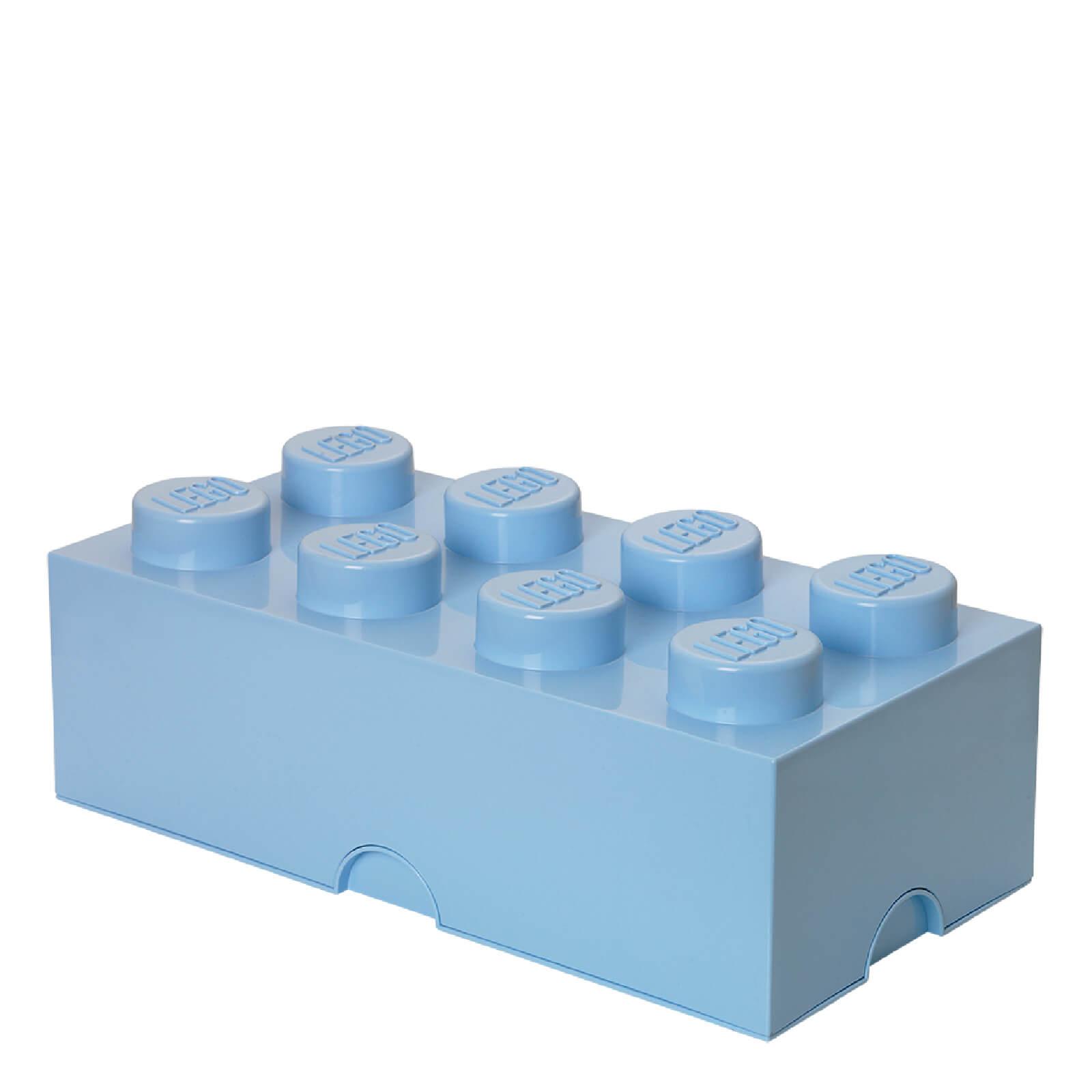 Lego Storage Brick 8 - Light Royal Blue